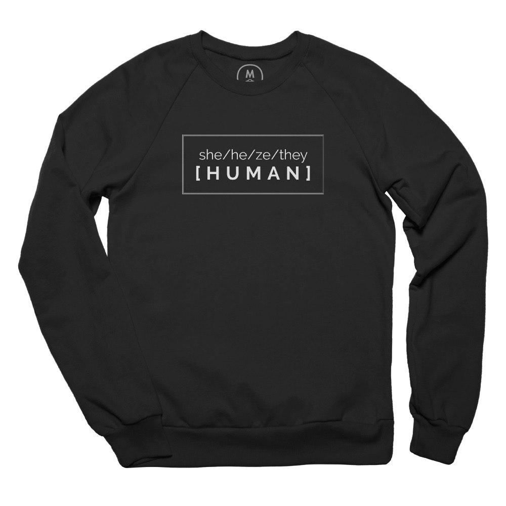Pronounced Human Pullover Crewneck
