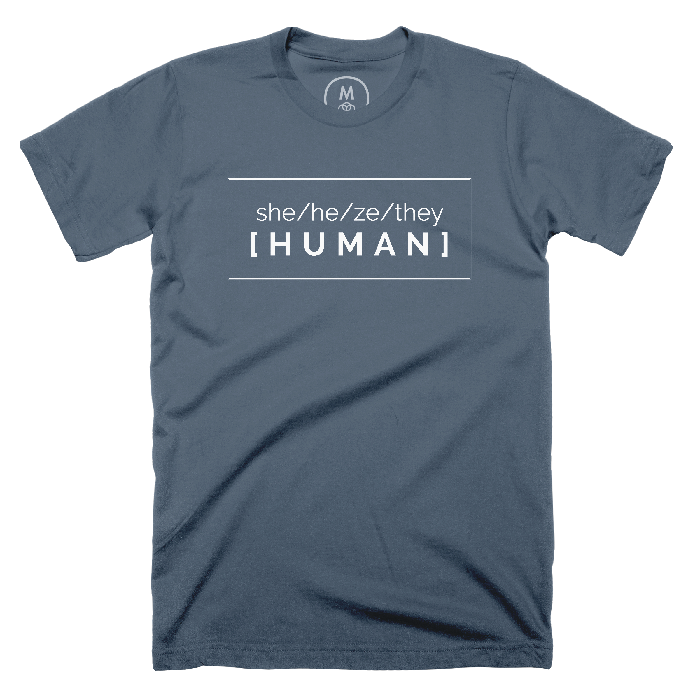 Pronounced Human Indigo (Men's)