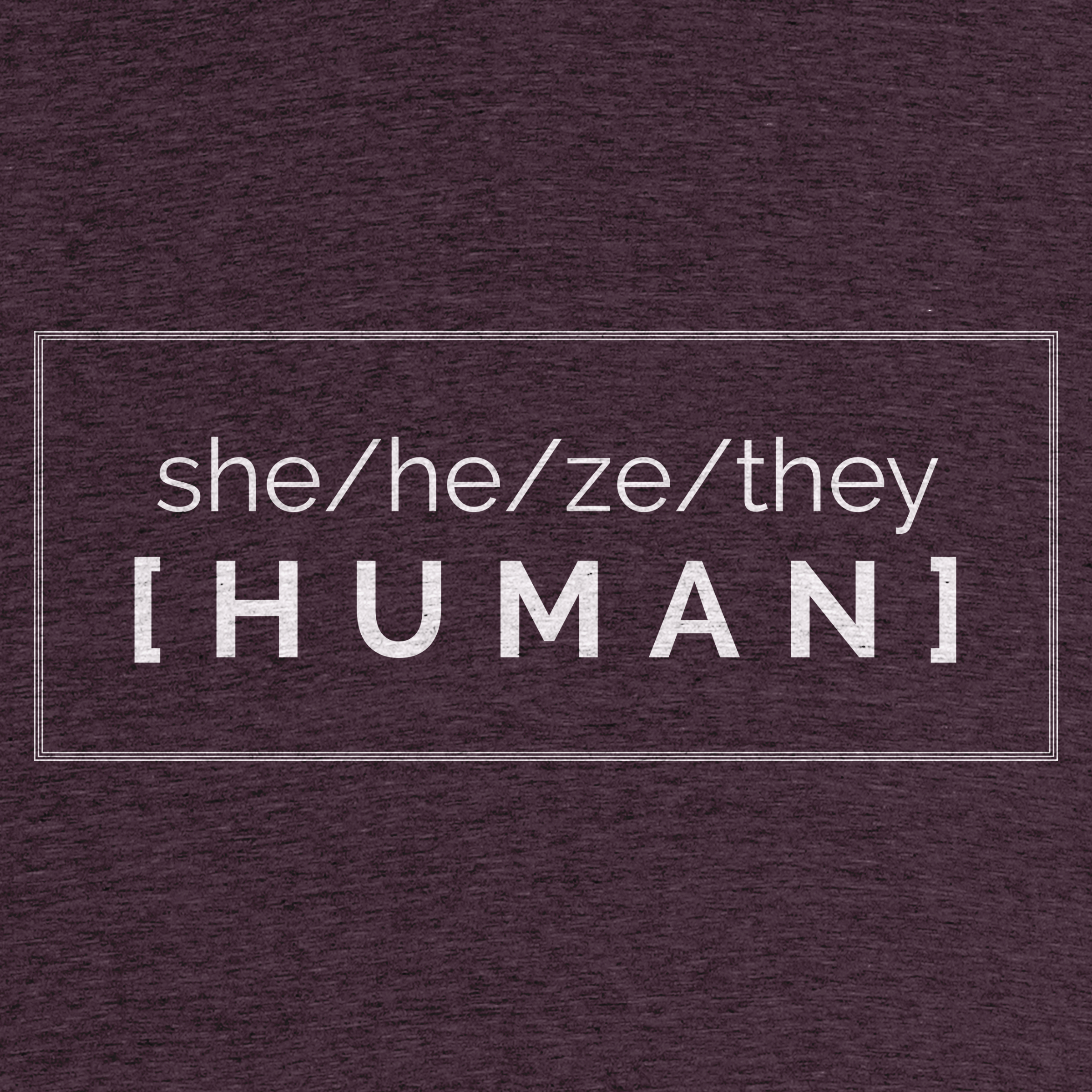 Pronounced Human Detail