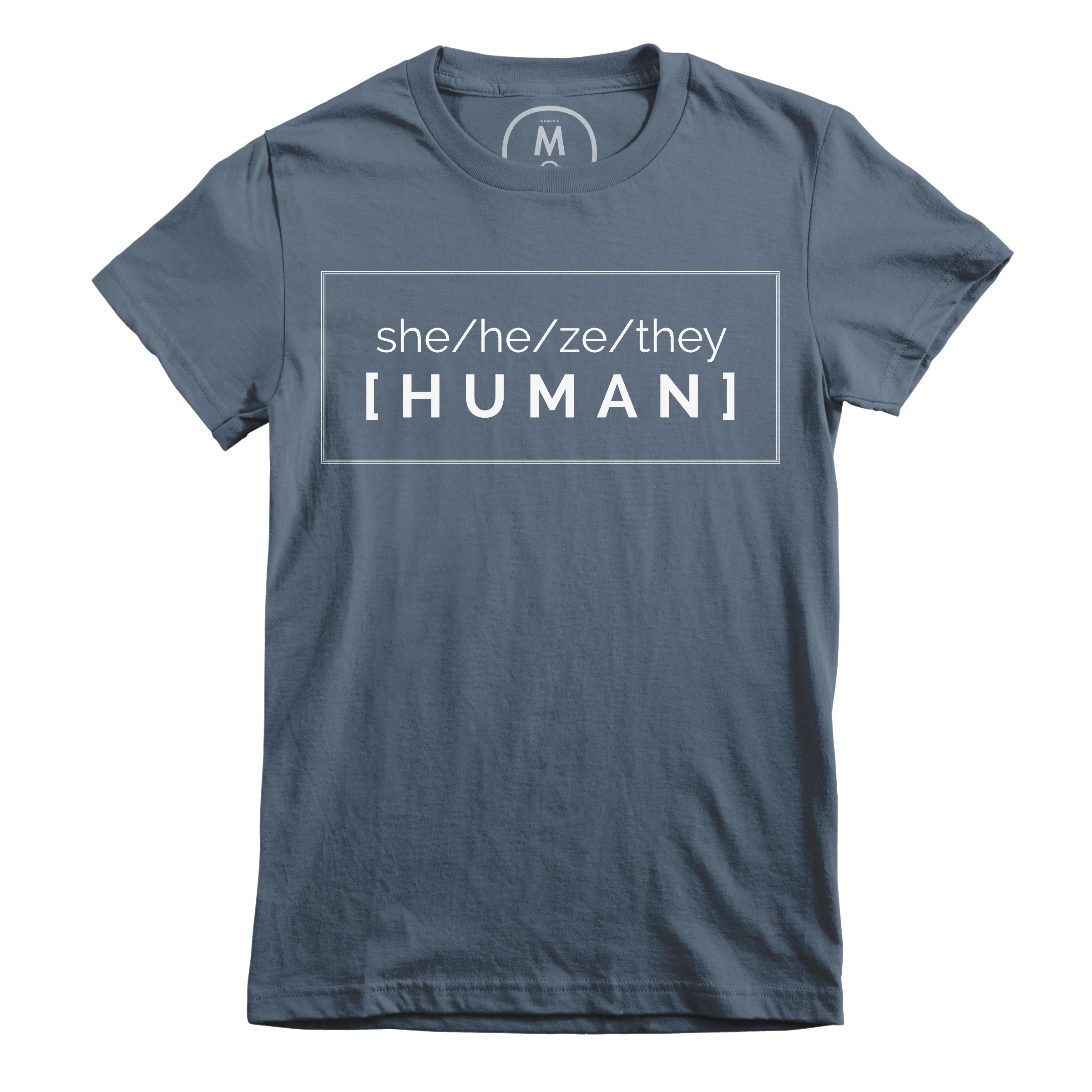 Pronounced Human Indigo (Women's)