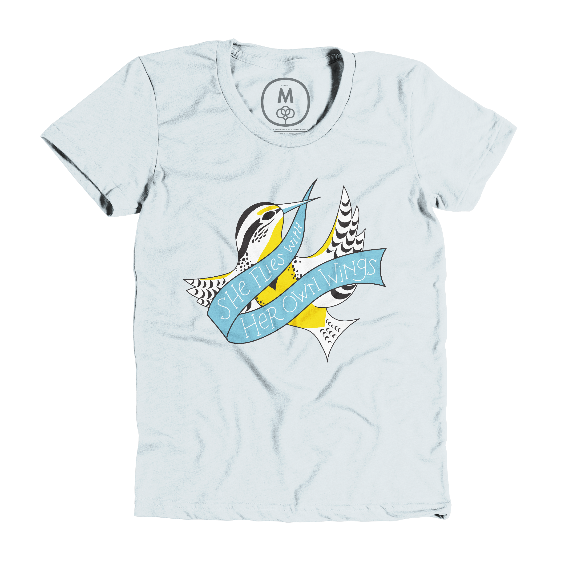 She Flies With Her Own Wings Ice Blue (Women's)