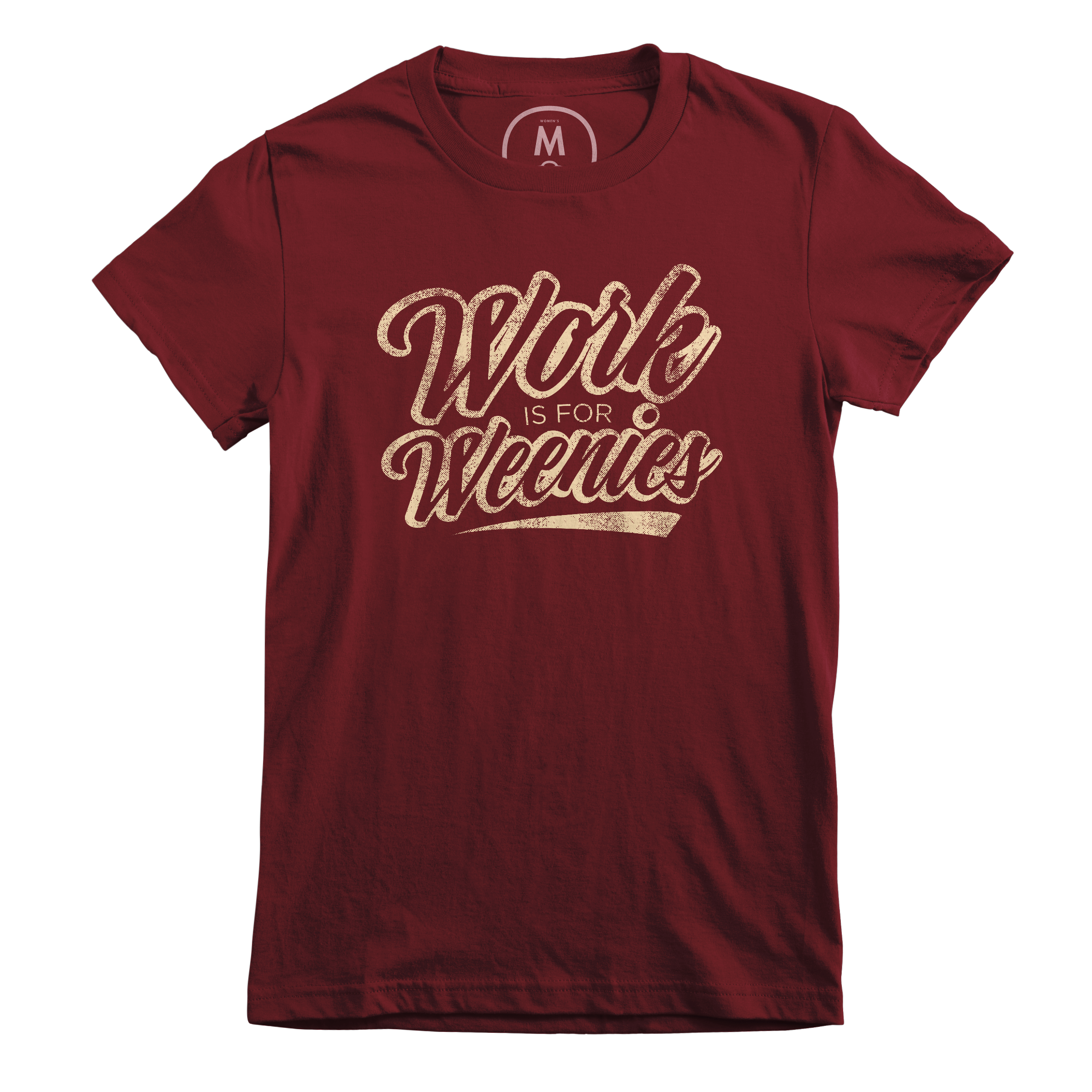 Shirt for the Weekend Maroon (Women's)