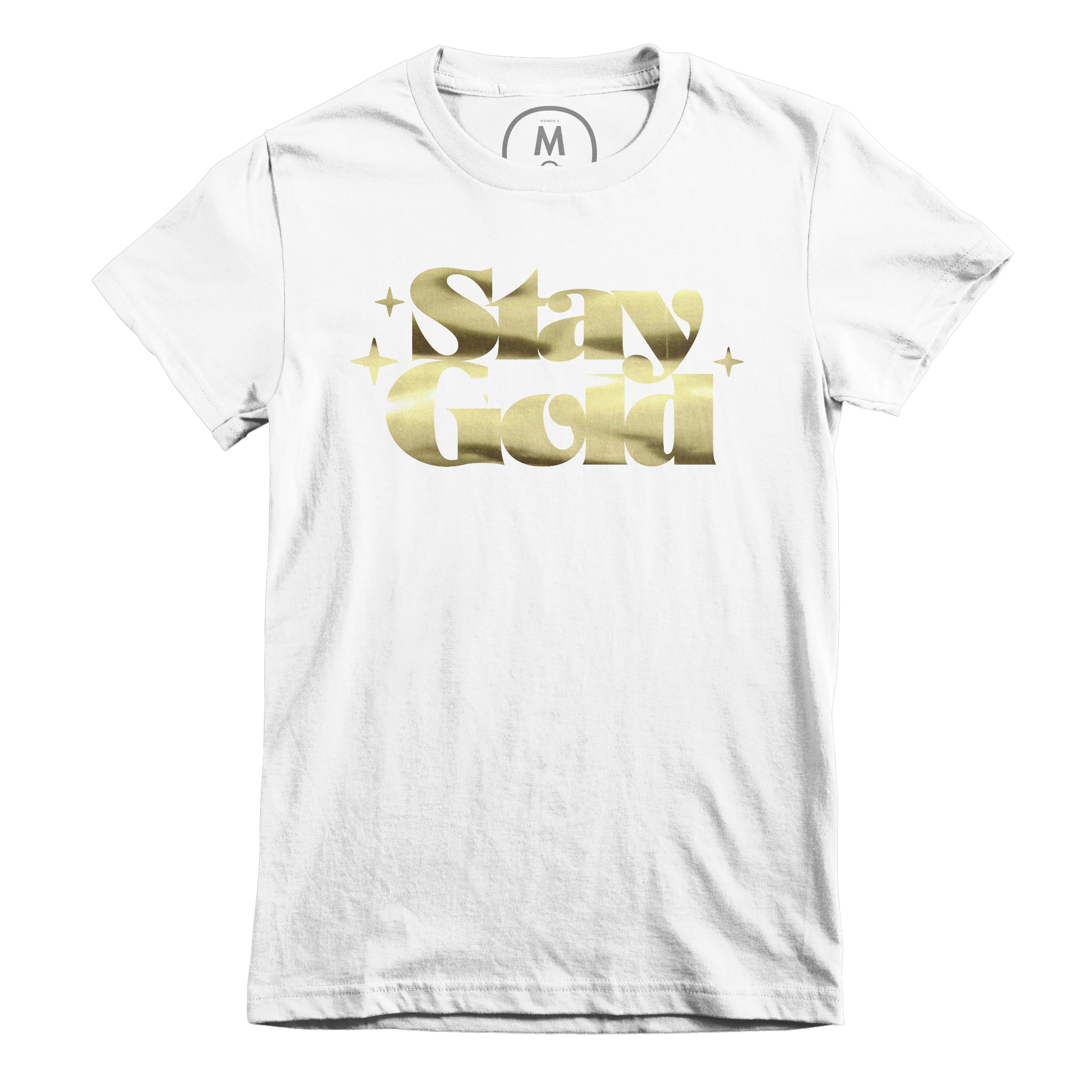 Stay Gold White (Women's)