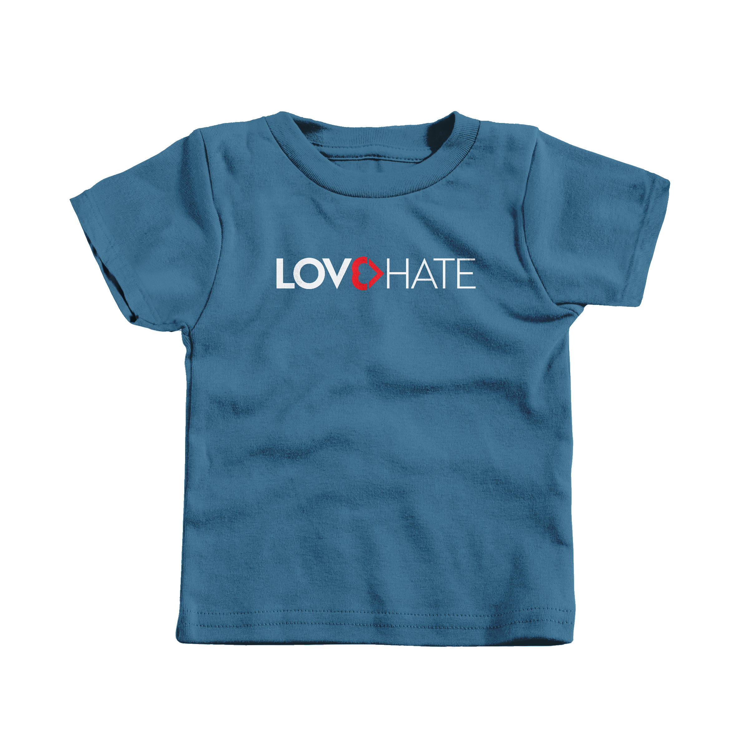Love Is Greater Than Hate Indigo (T-Shirt)