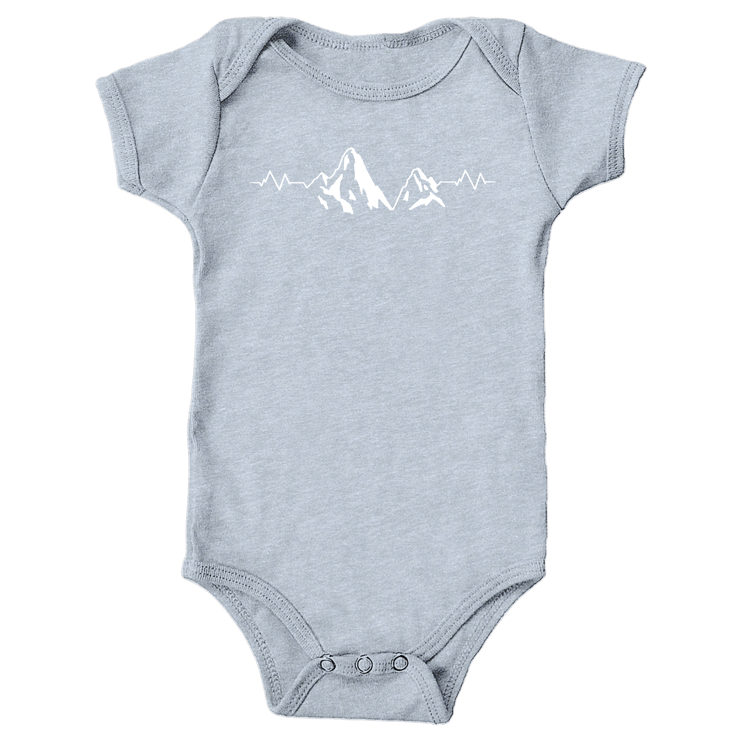 Keep Adventure Alive Heather Grey (Onesie)