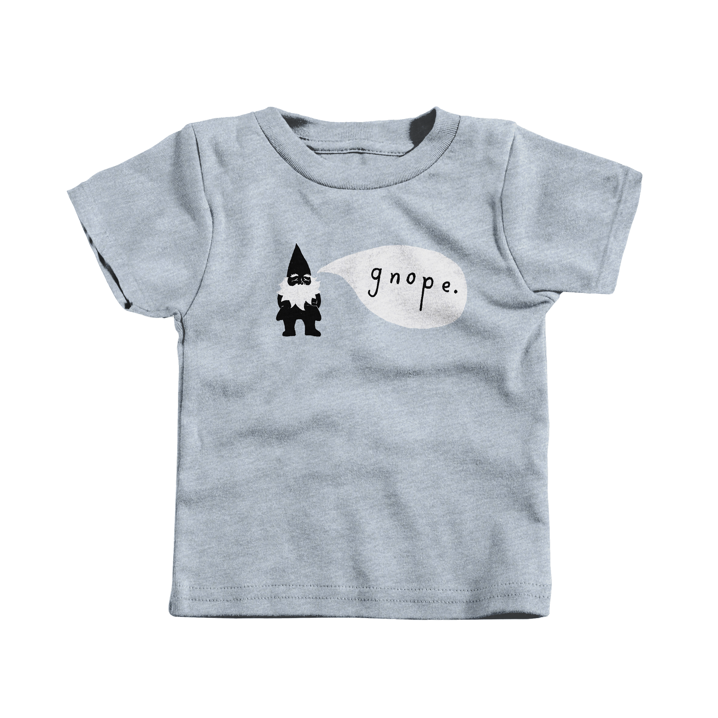 Gnope Heather Grey (T-Shirt)