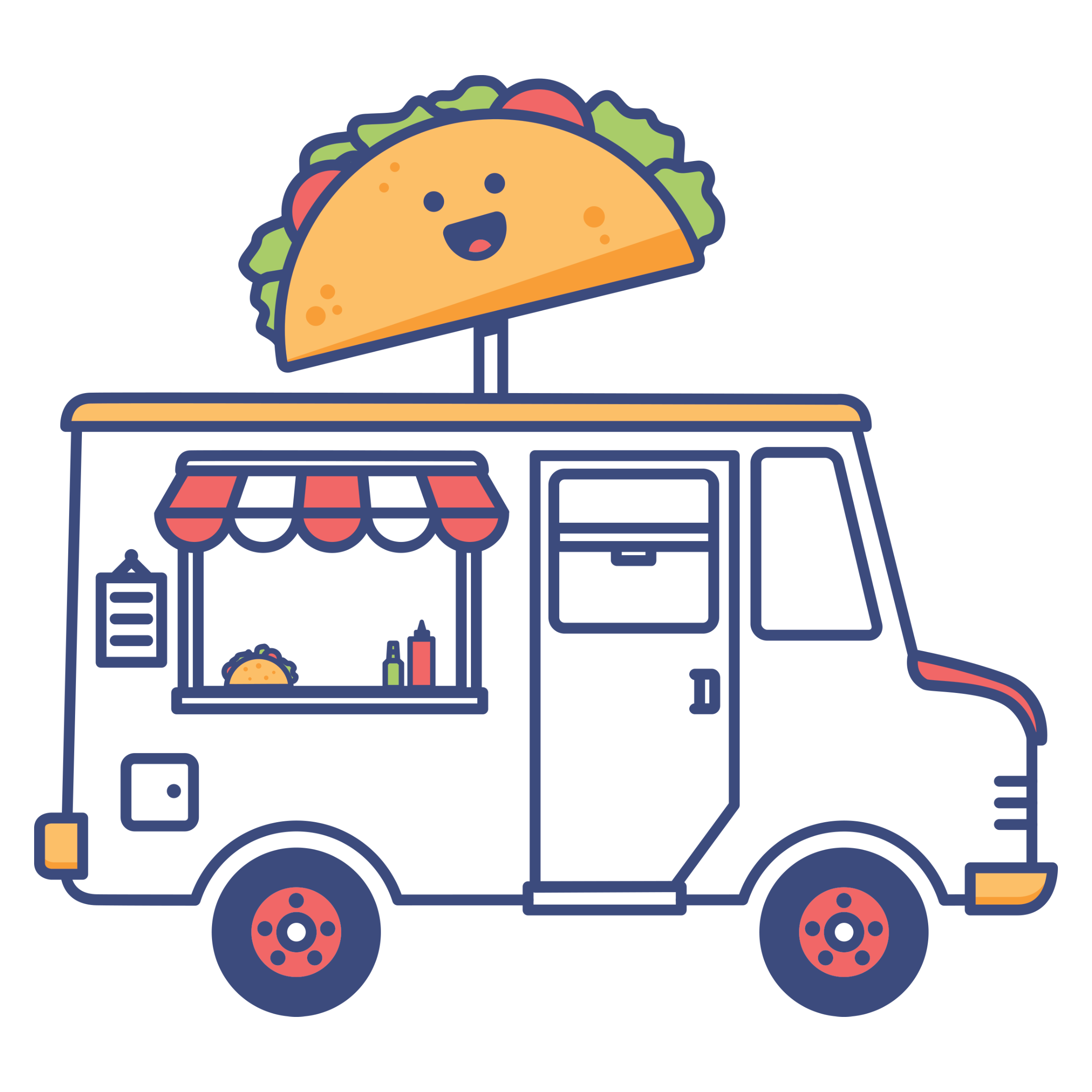 Taco Truck Detail