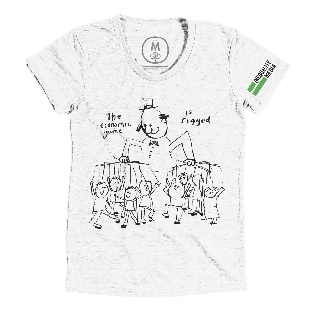 The Game is Rigged Heather White (Women's)