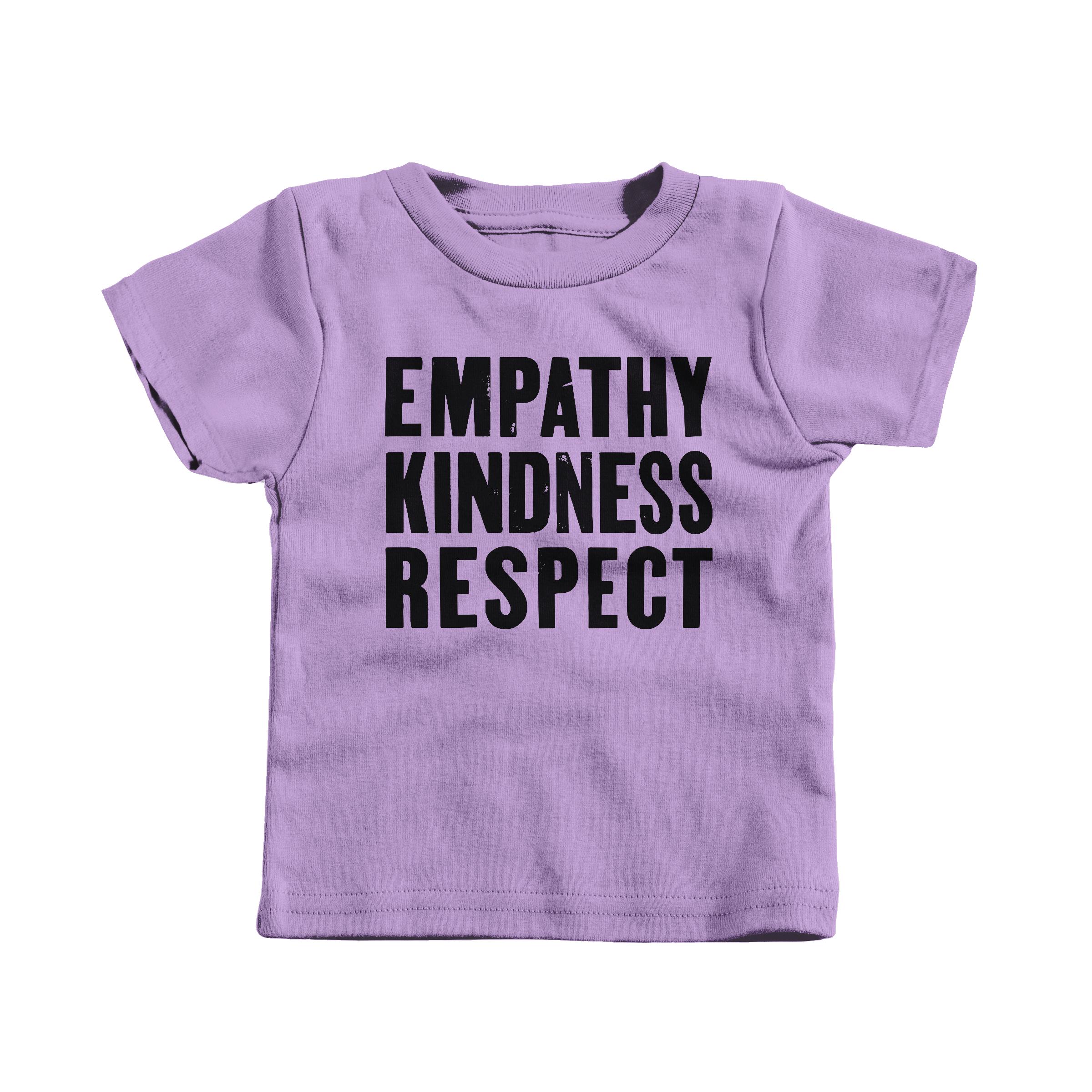 Empathy, Kindness, Respect Lavender (T-Shirt)