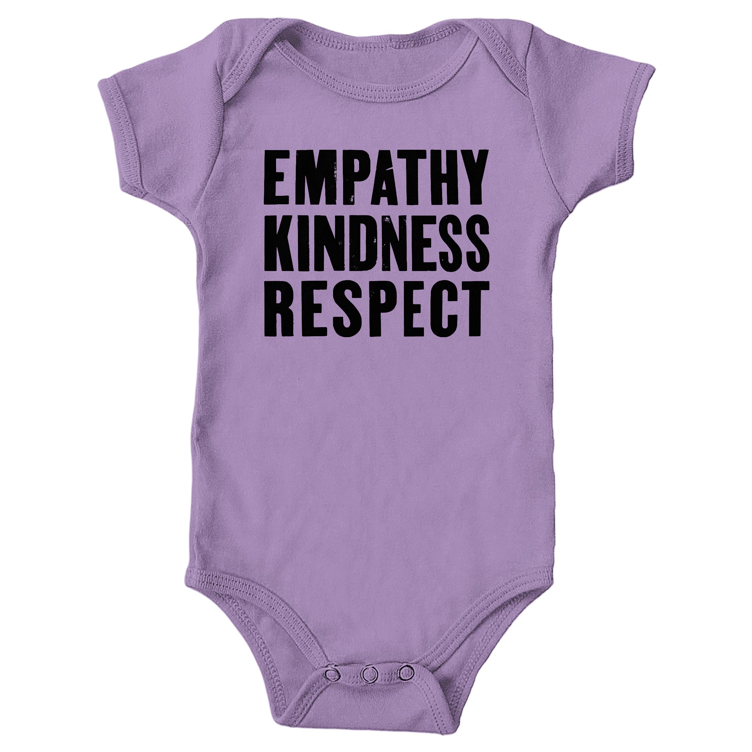 Empathy, Kindness, Respect Lavender (Onesie)