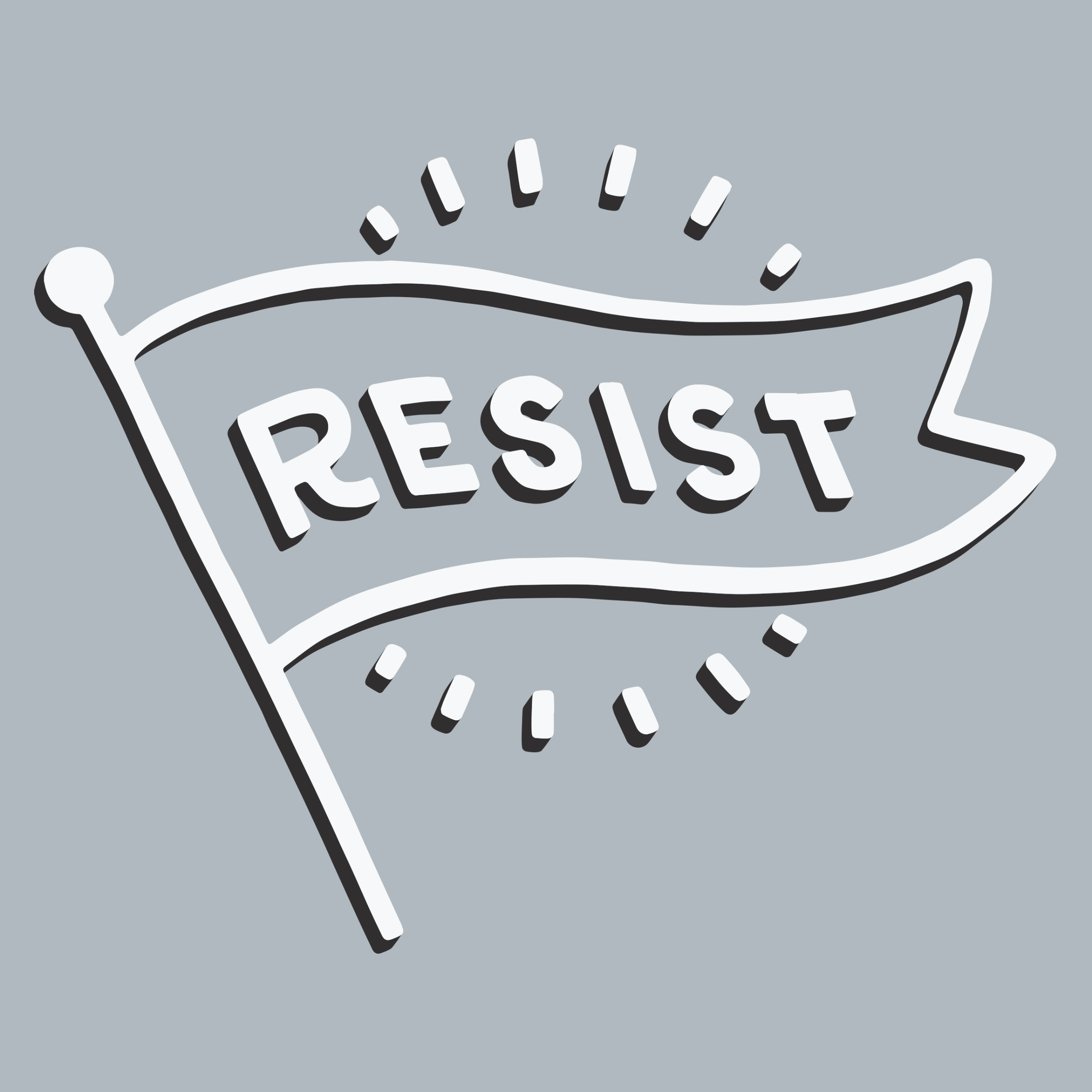 Flag of Resistance Detail