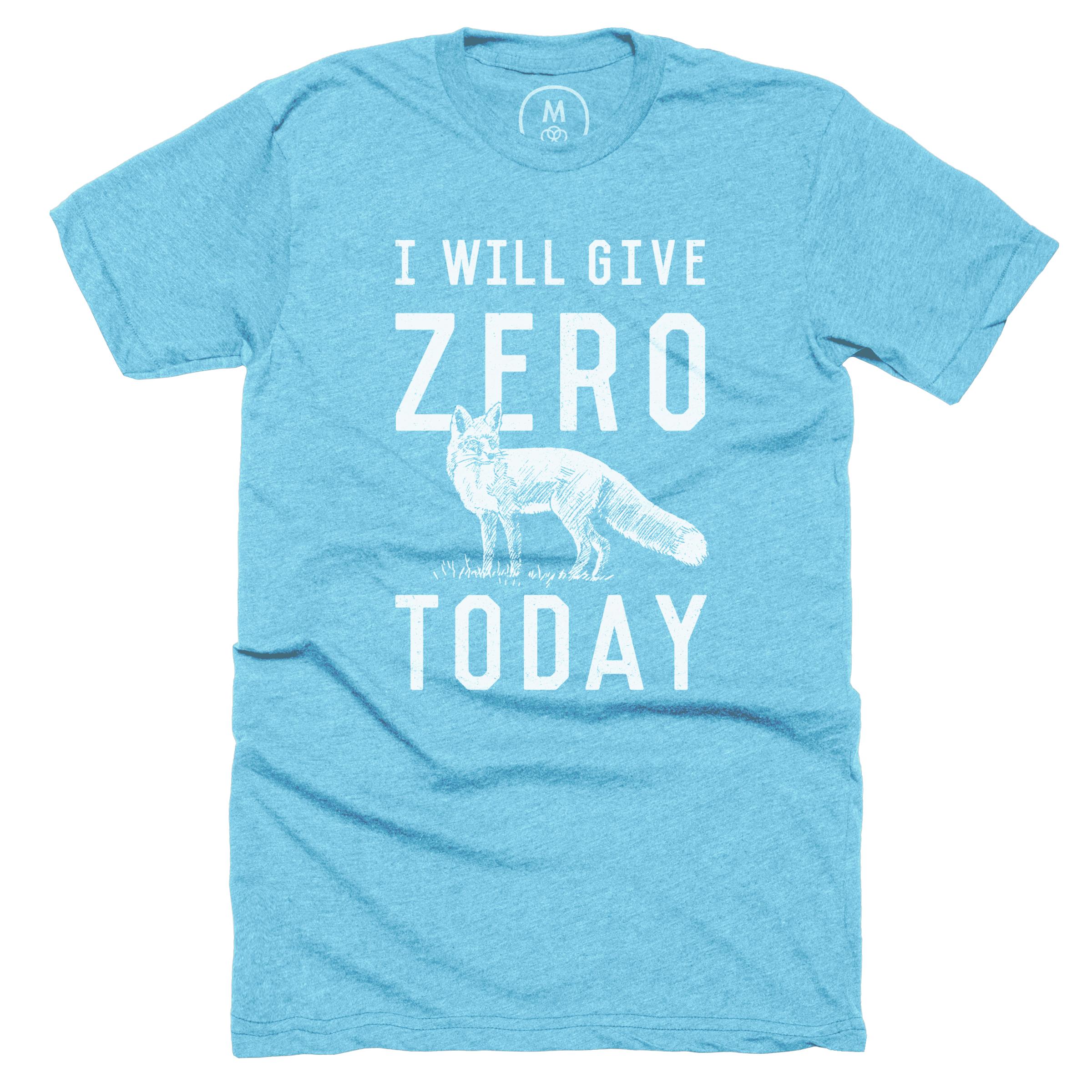 I Will Give Zero Fox Today Bondi Blue (Men's)