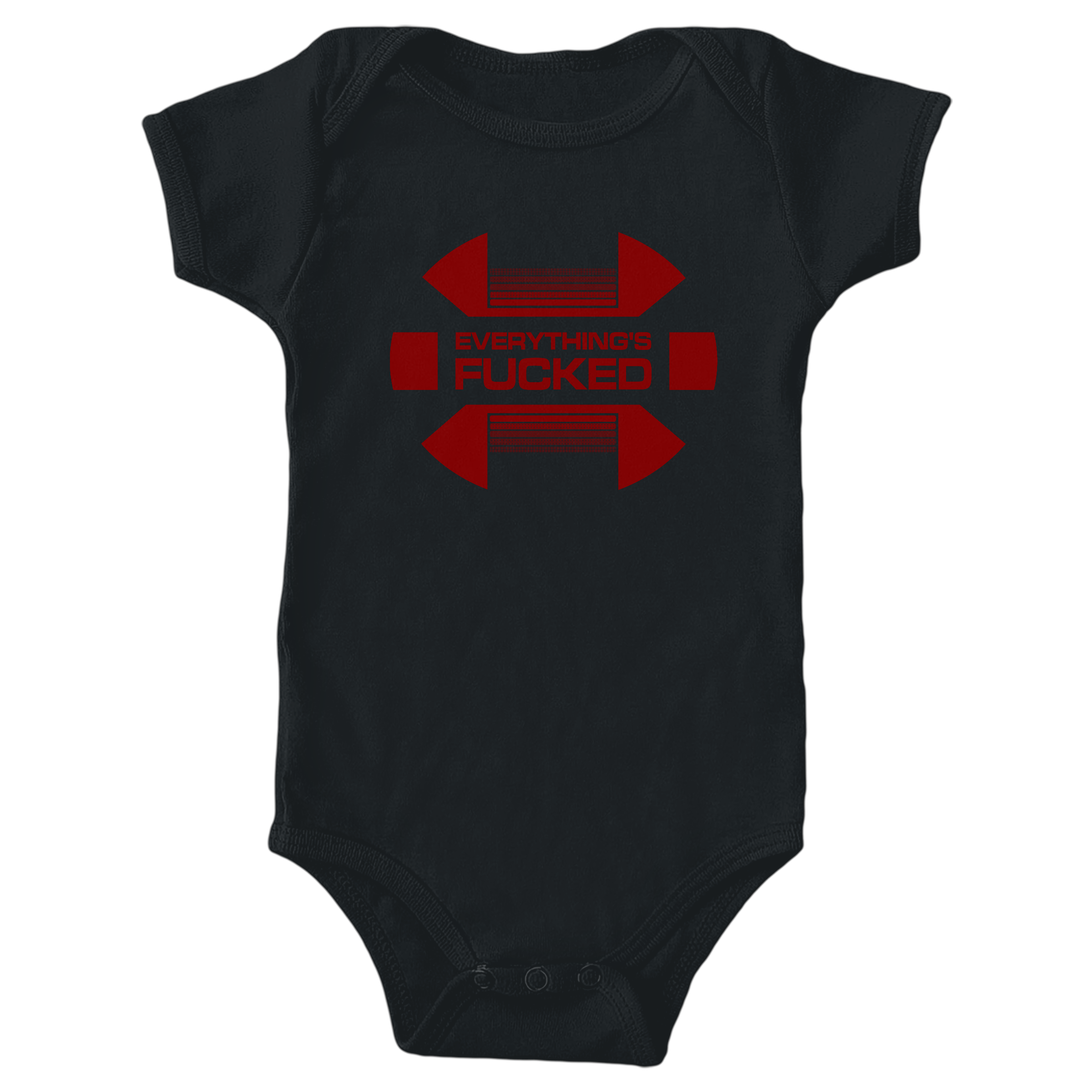 Swear Trek Red Alert Black (Onesie)