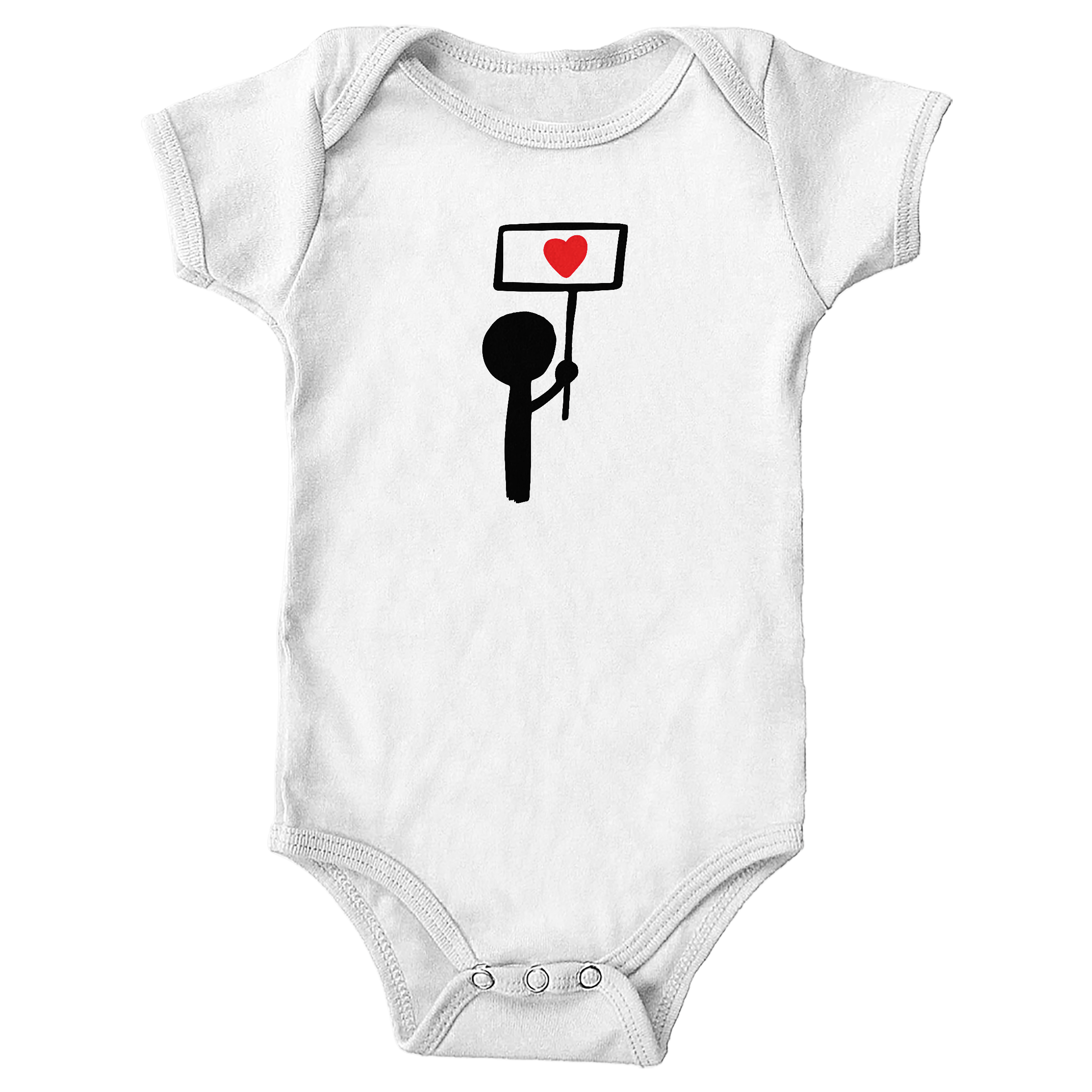Stand for Love White (Onesie)