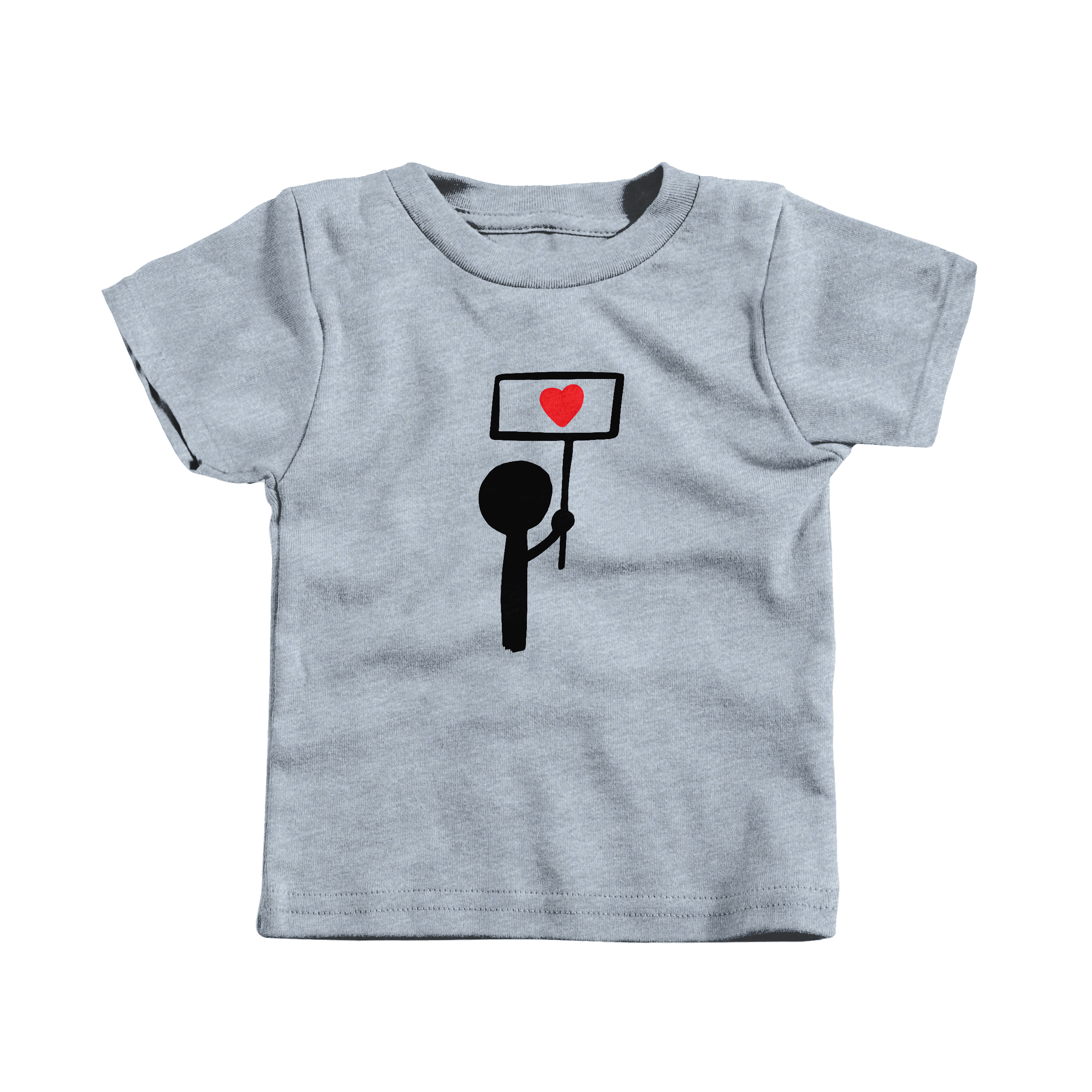Stand for Love Heather Grey (T-Shirt)