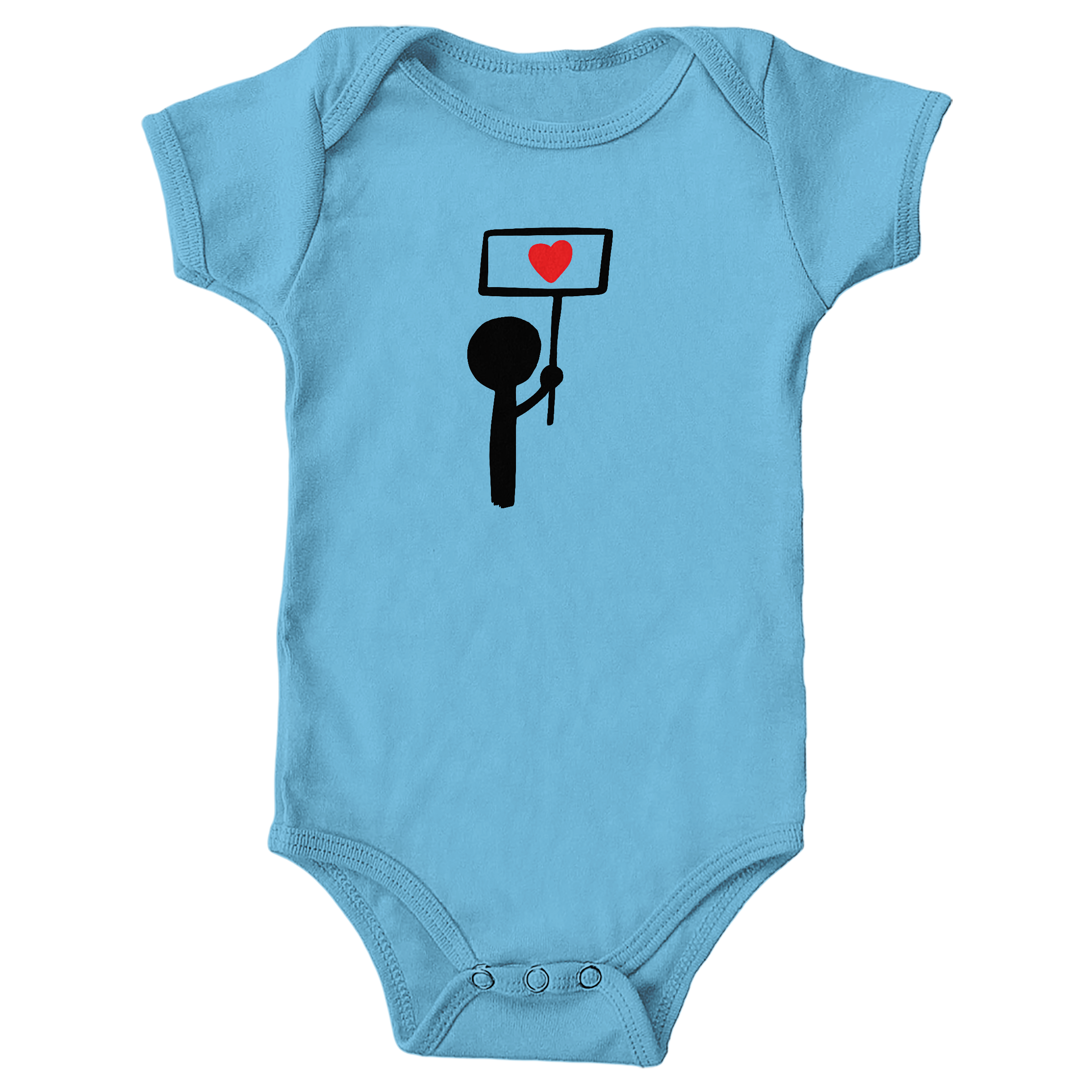 Stand for Love Light Blue (Onesie)