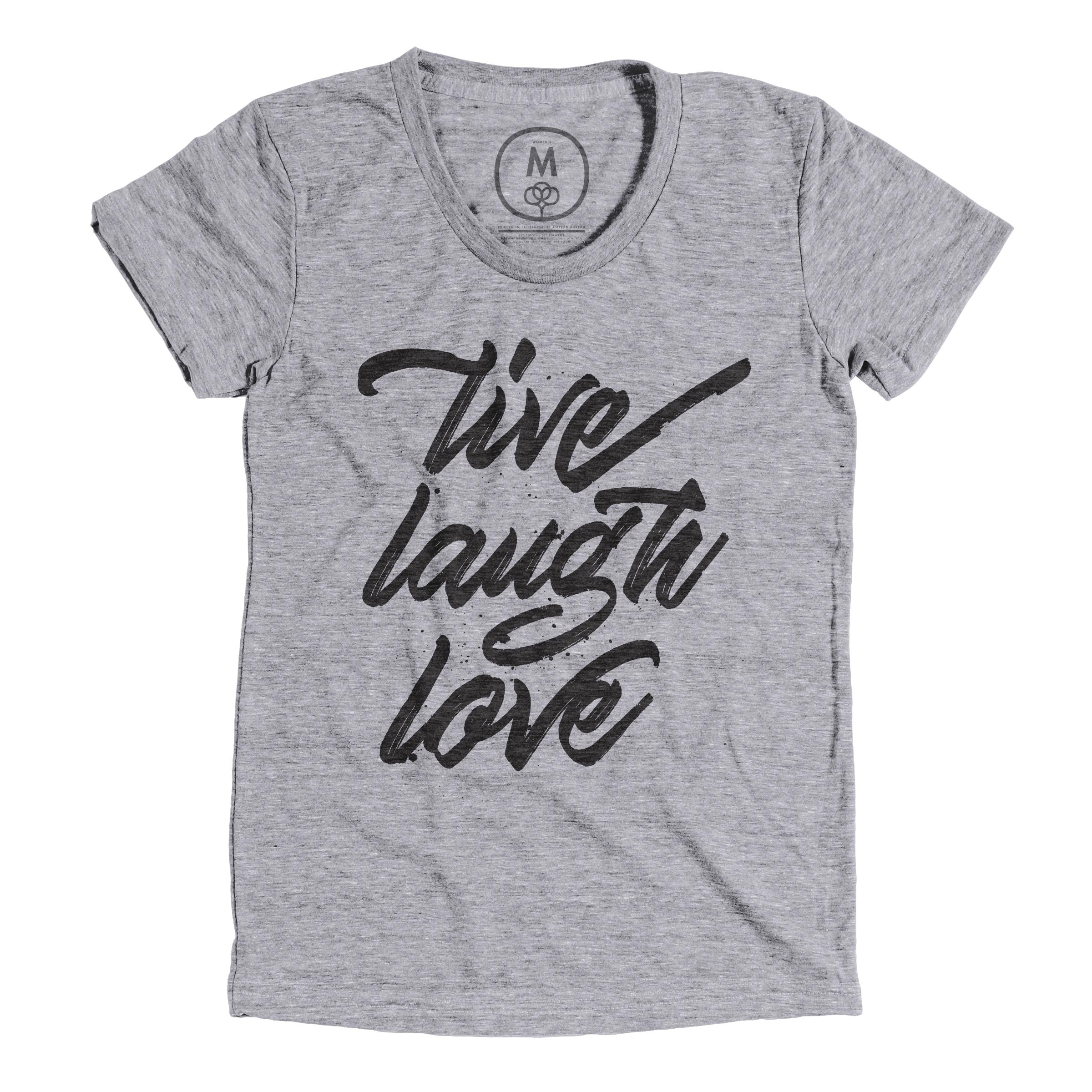 Live. Laugh. Love Premium Heather (Women's)