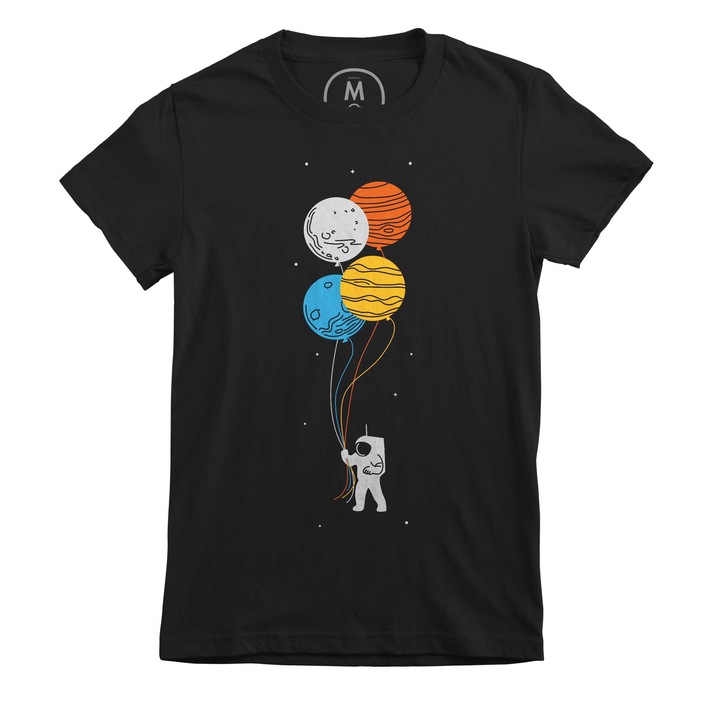 Space Oddity Black (Women's)