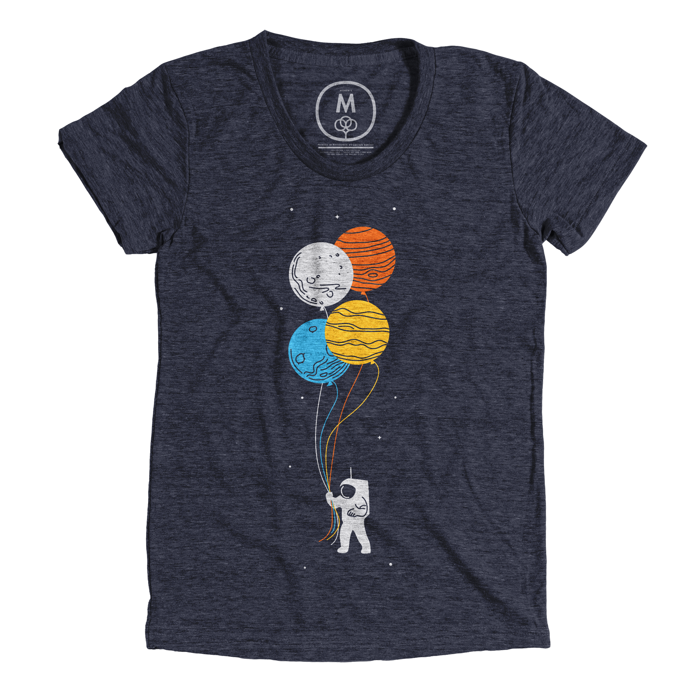 Space Oddity Vintage Navy (Women's)
