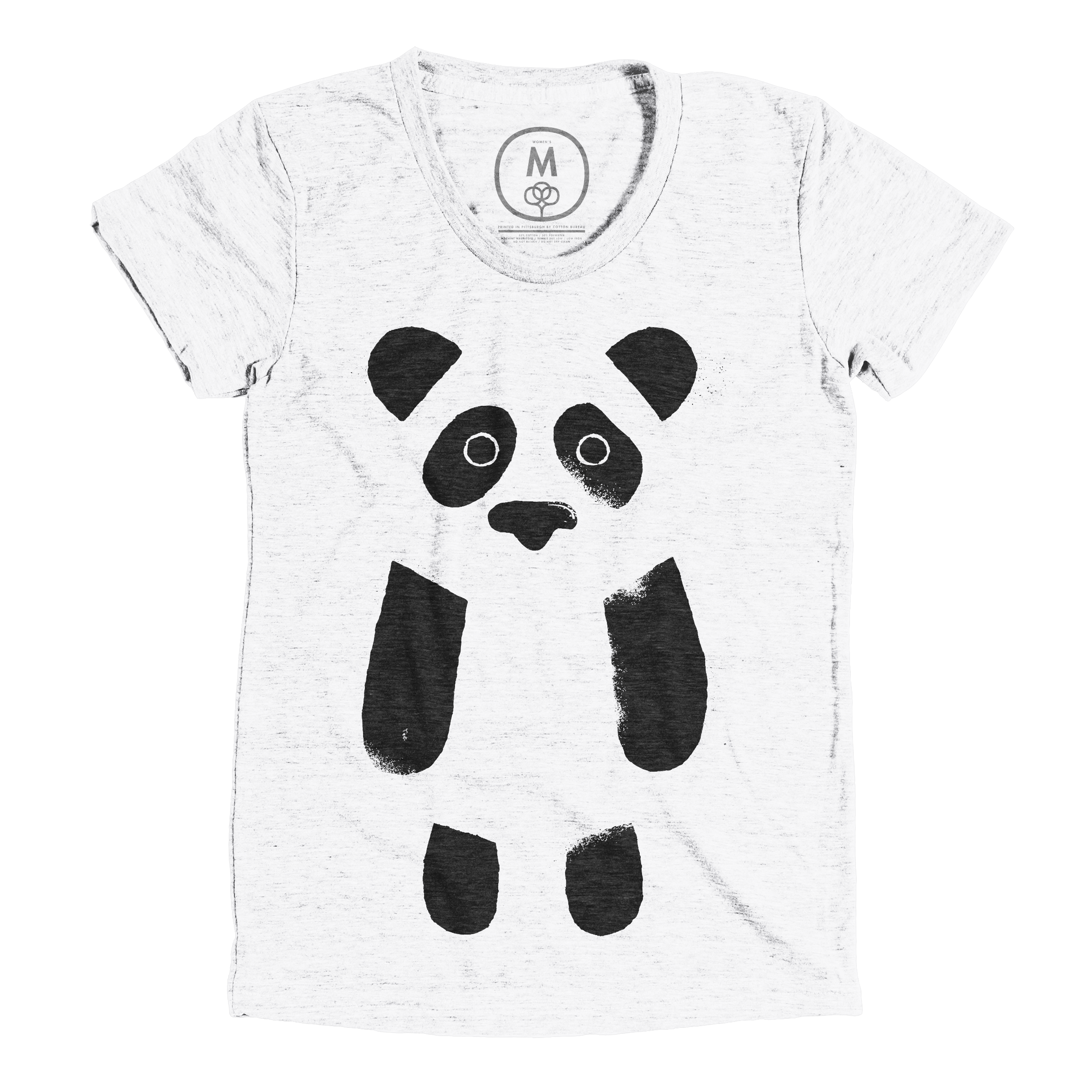 Panda Expressed Heather White (Men's)