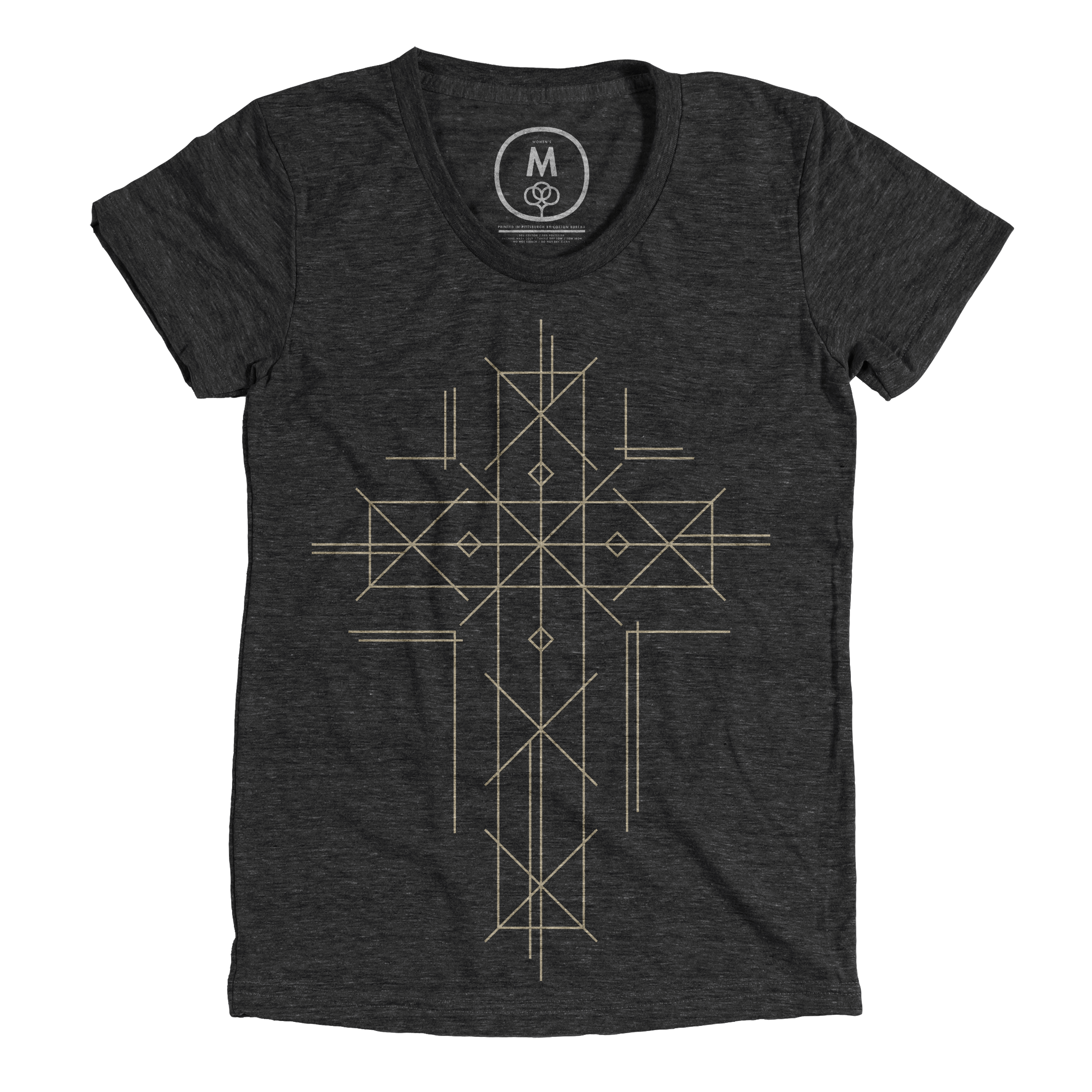 Golden Cross Vintage Black (Women's)