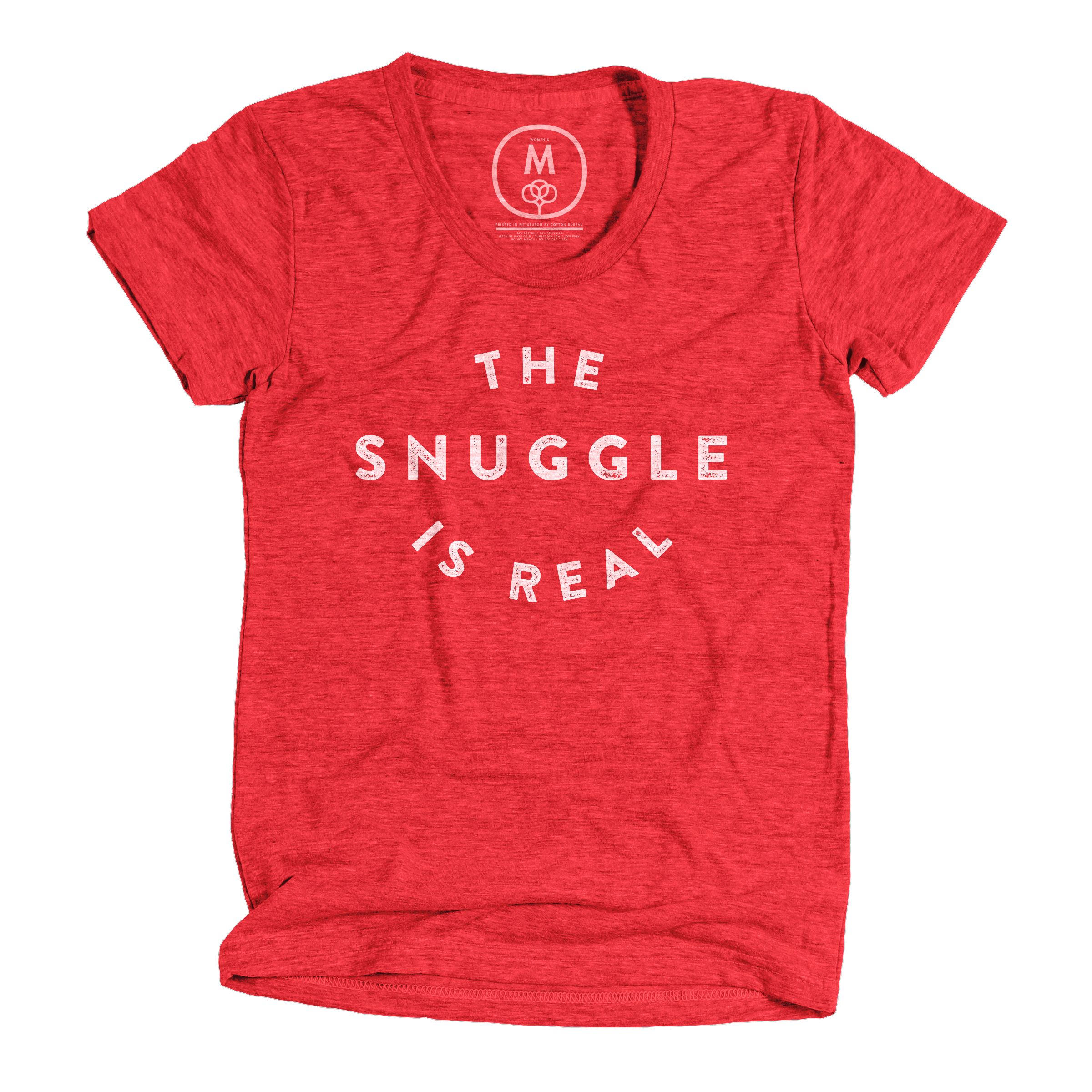 The Snuggle is Real Vintage Red (Women's)
