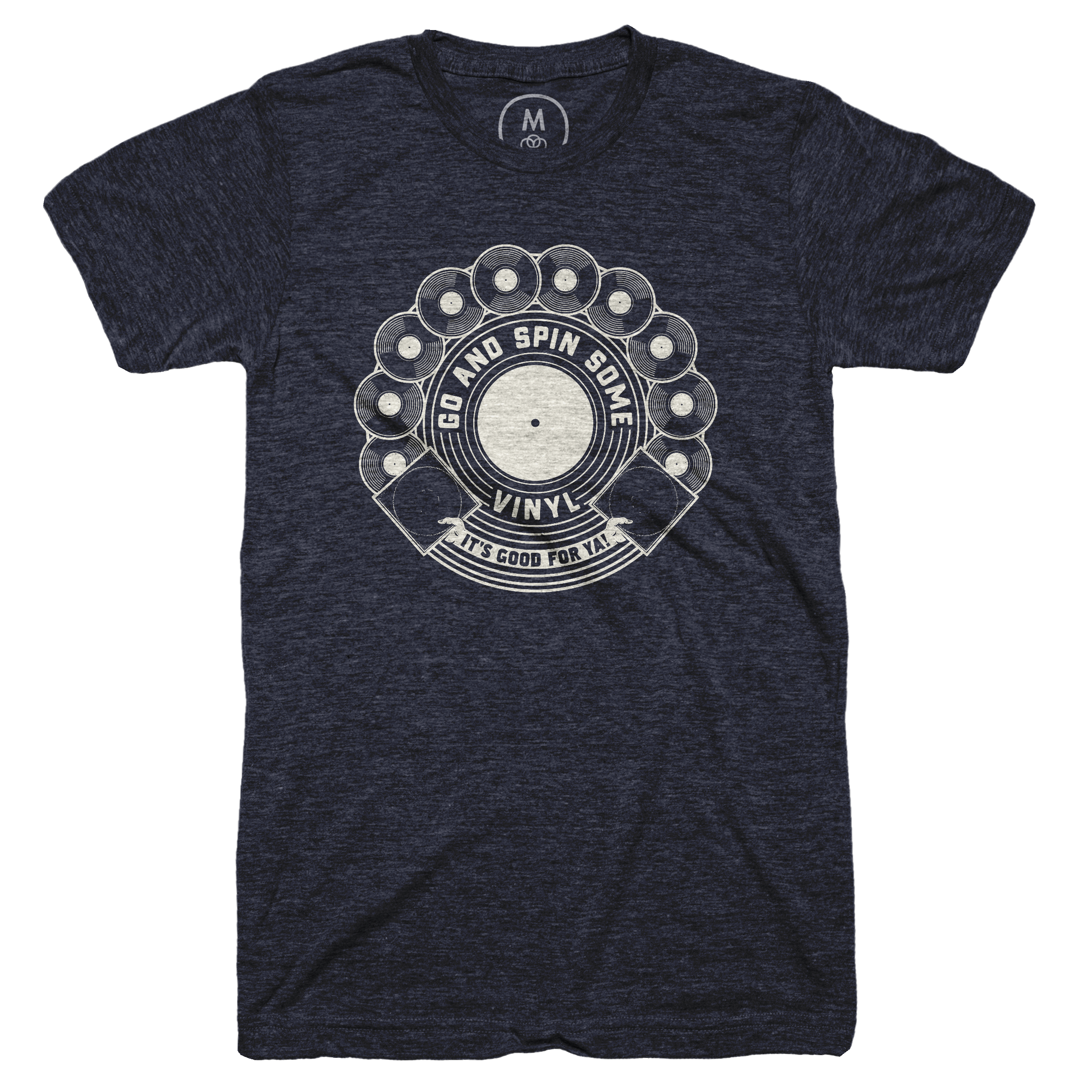 Vinyl's Good For Ya! Vintage Navy (Men's)