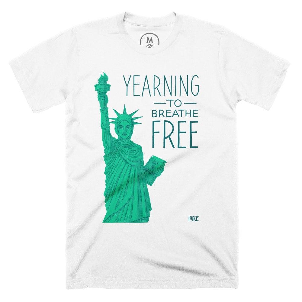 Yearning to be Free White (Men's)