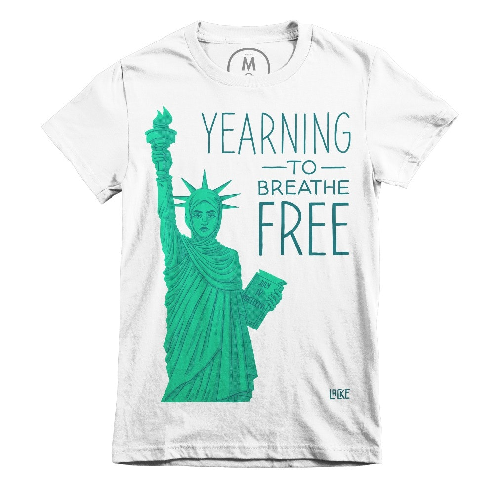 Yearning to be Free White (Women's)