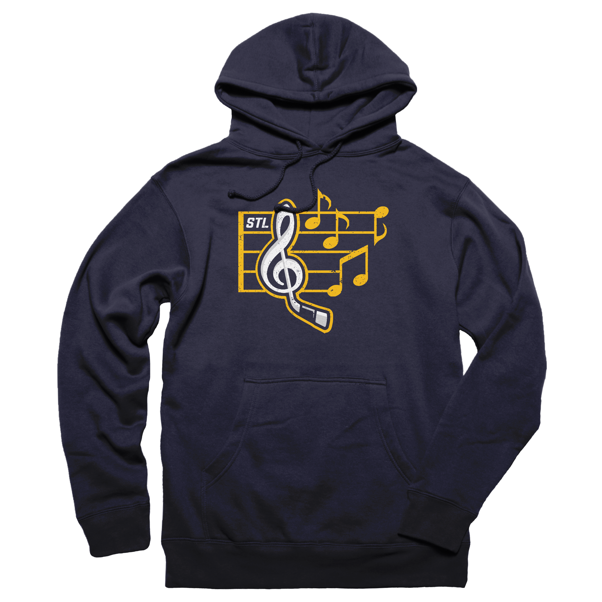 LET'S GO BLUES!!!!!!!! Pullover Hoodie