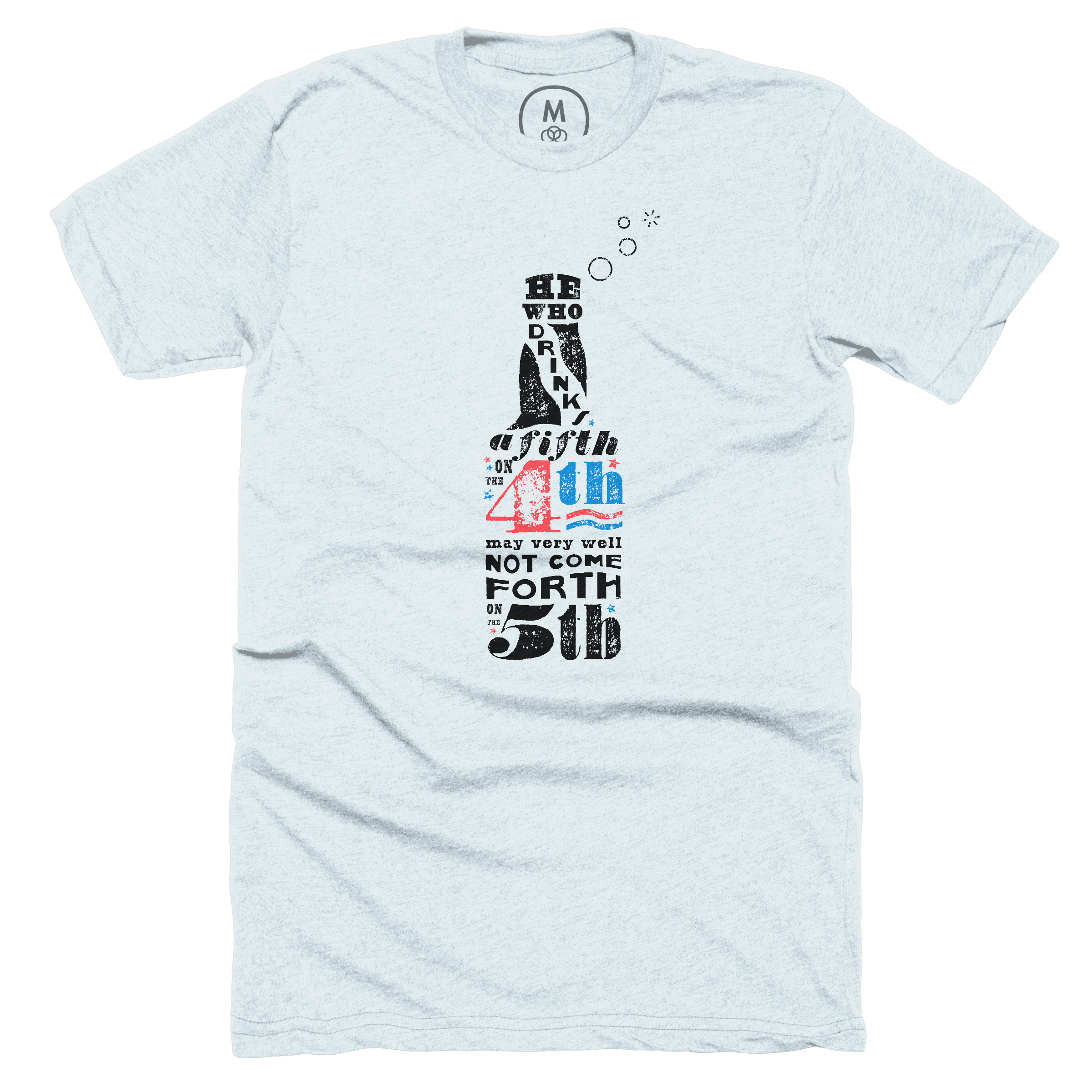 A Fifth on the 4th Ice Blue (Men's)