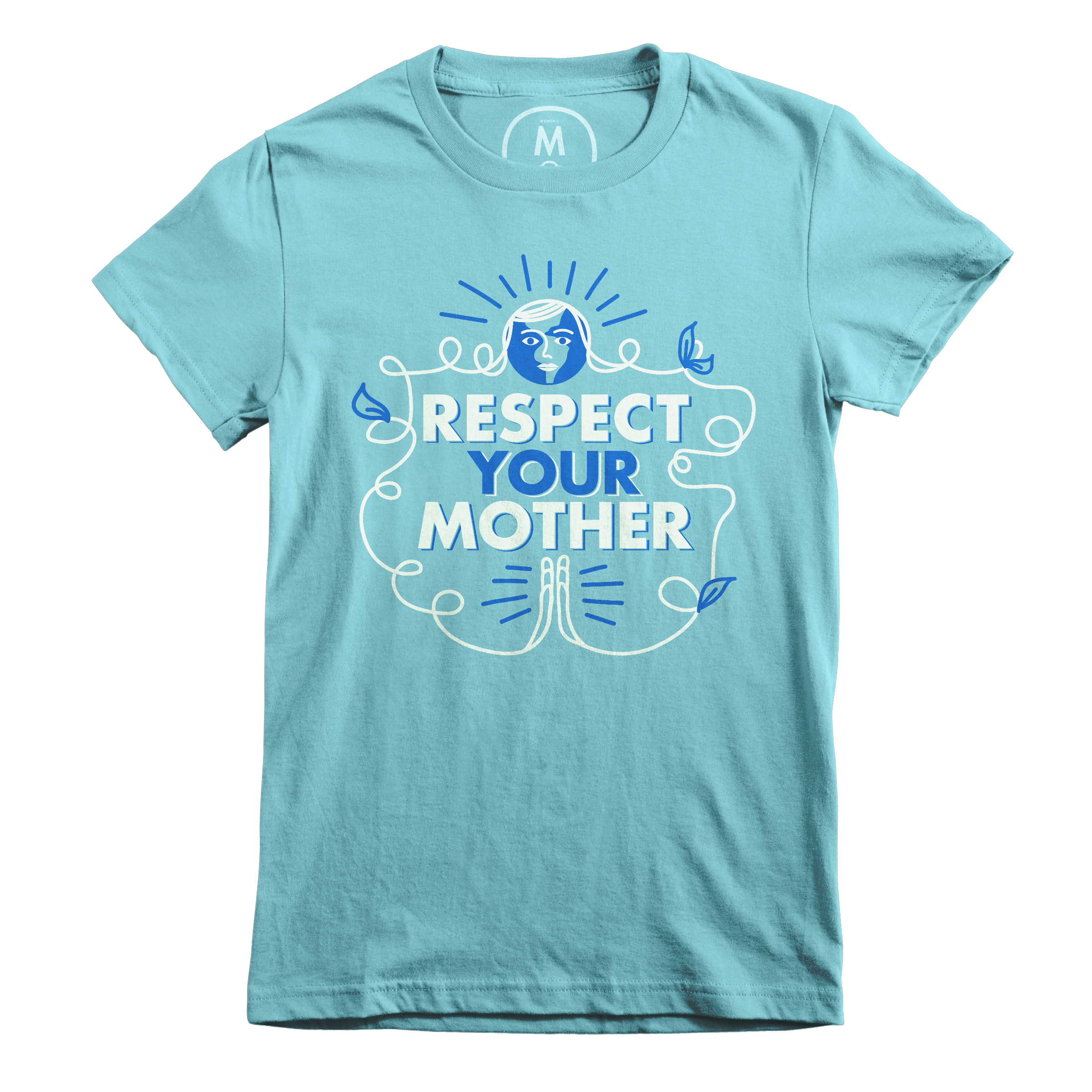Respect Your Mother Tahiti Blue (Women's)