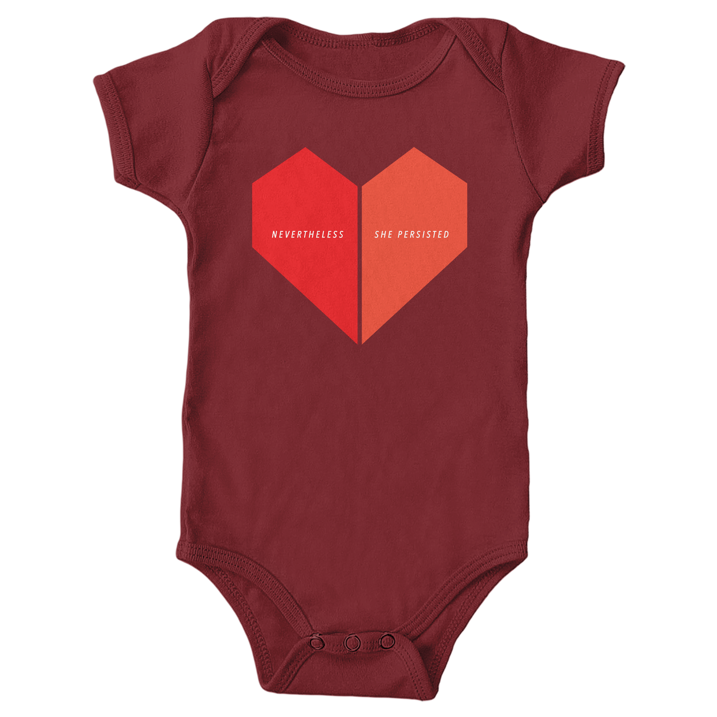 Nevertheless, She Persisted Garnet (Onesie)