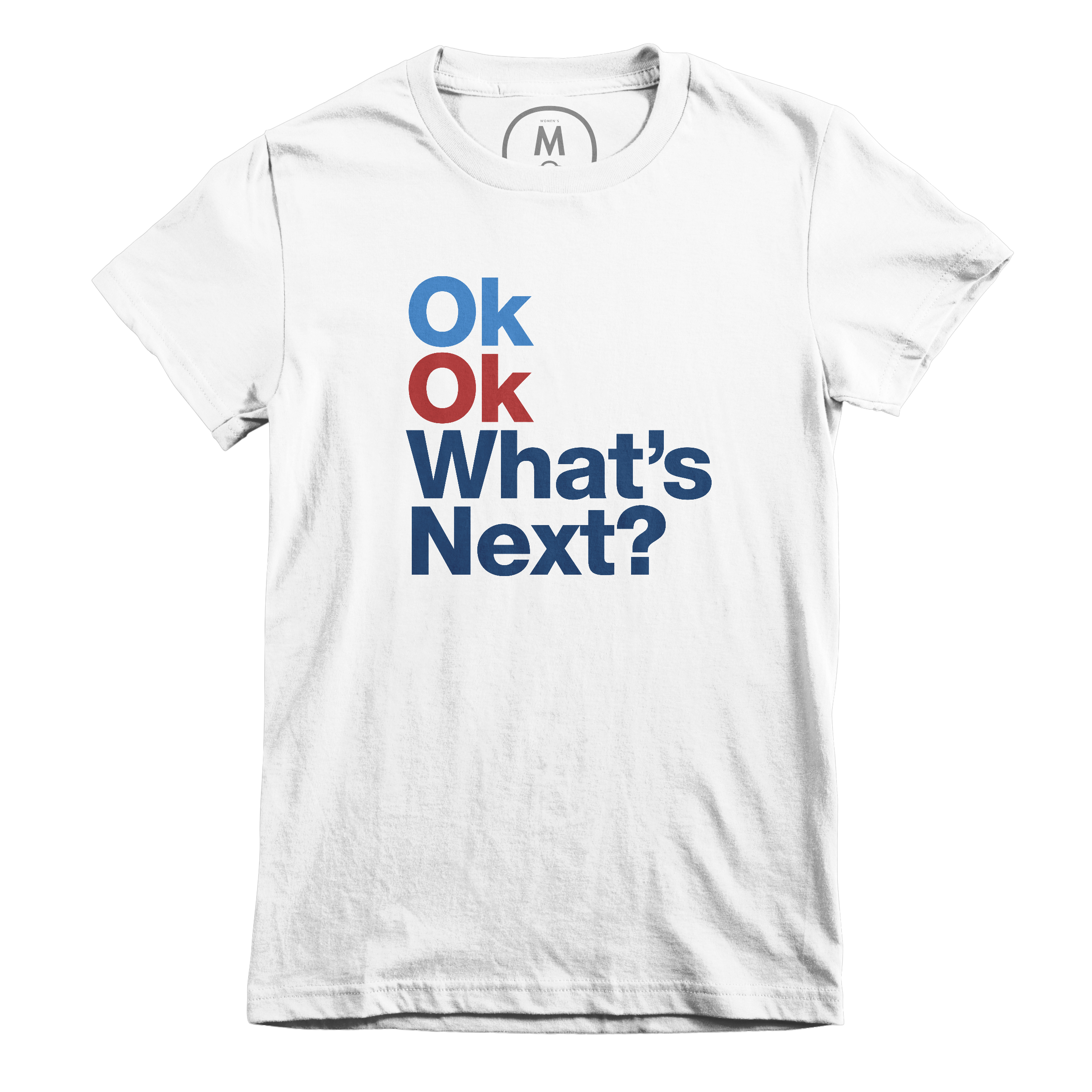 What's Next? (Red White & Blue) White (Women's)