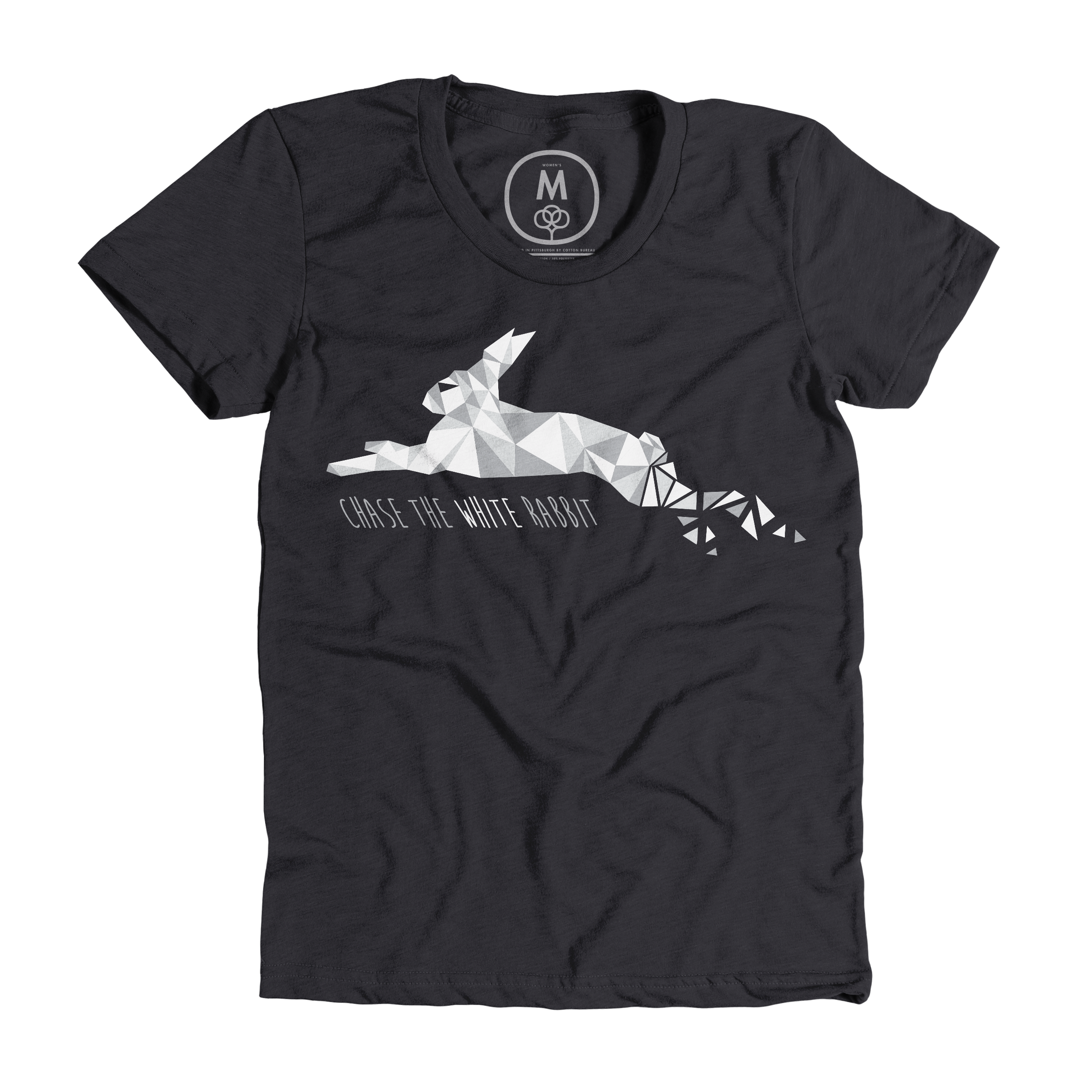 Chase the White Rabbit Charcoal (Women's)