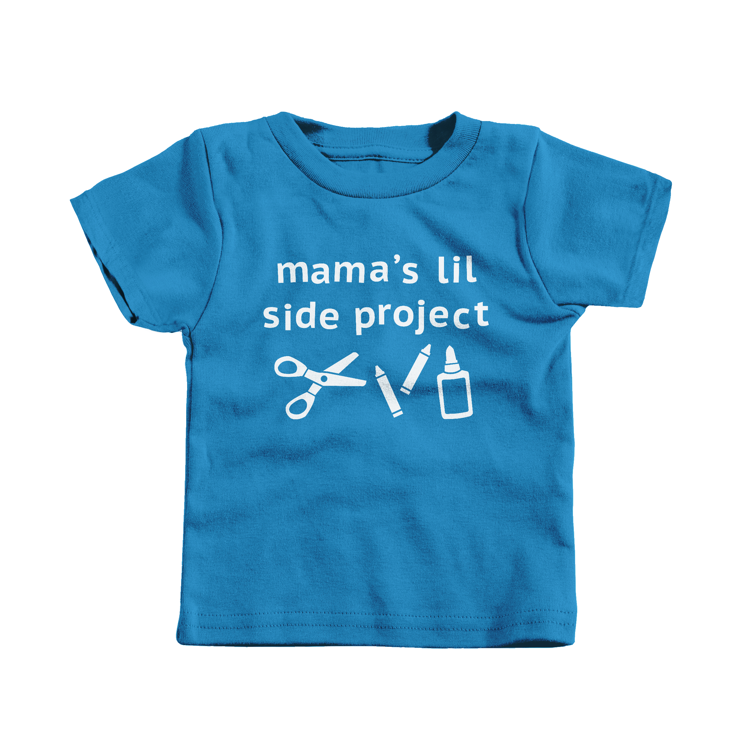 Mama's Lil Side Project Cobalt (T-Shirt)