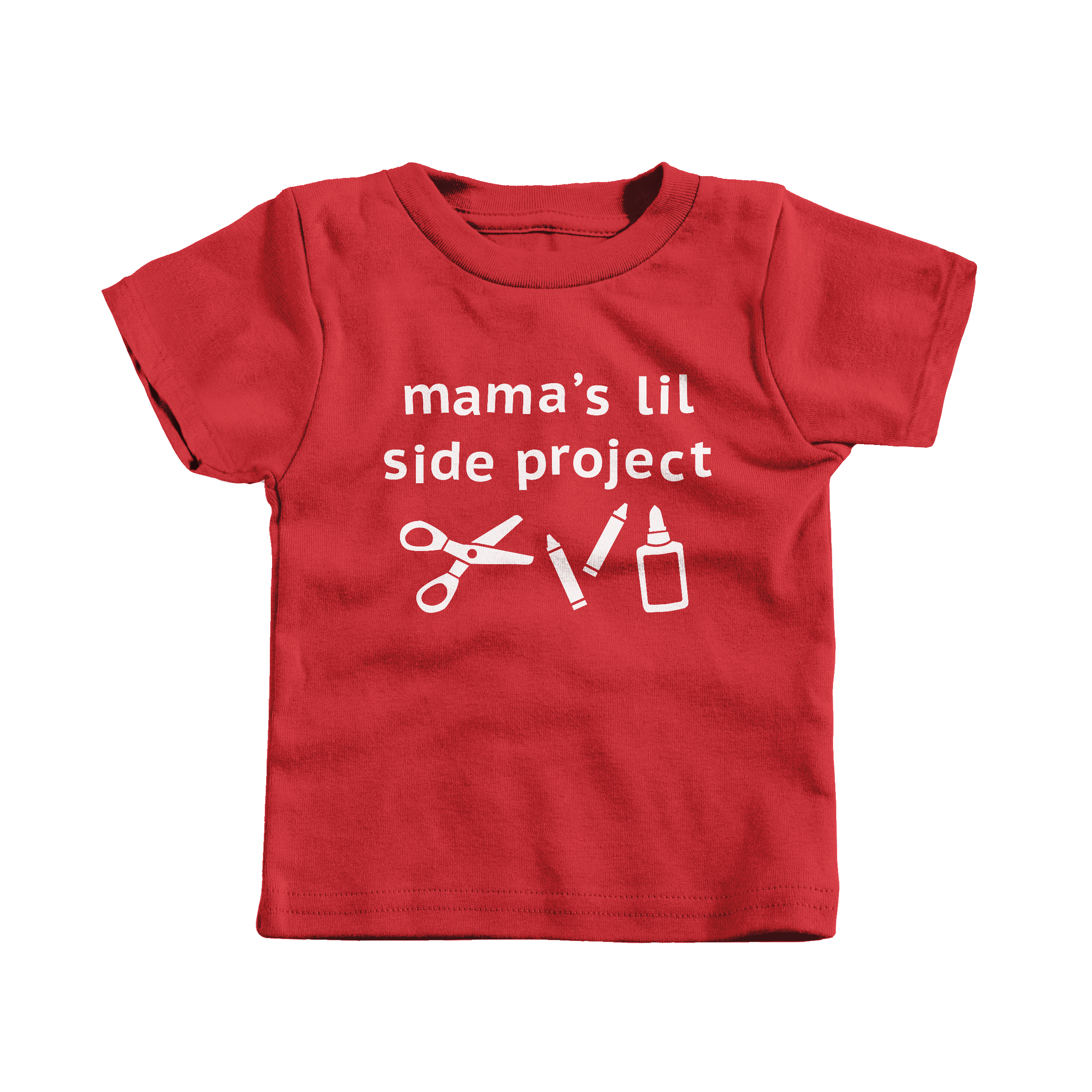 Mama's Lil Side Project Red (T-Shirt)