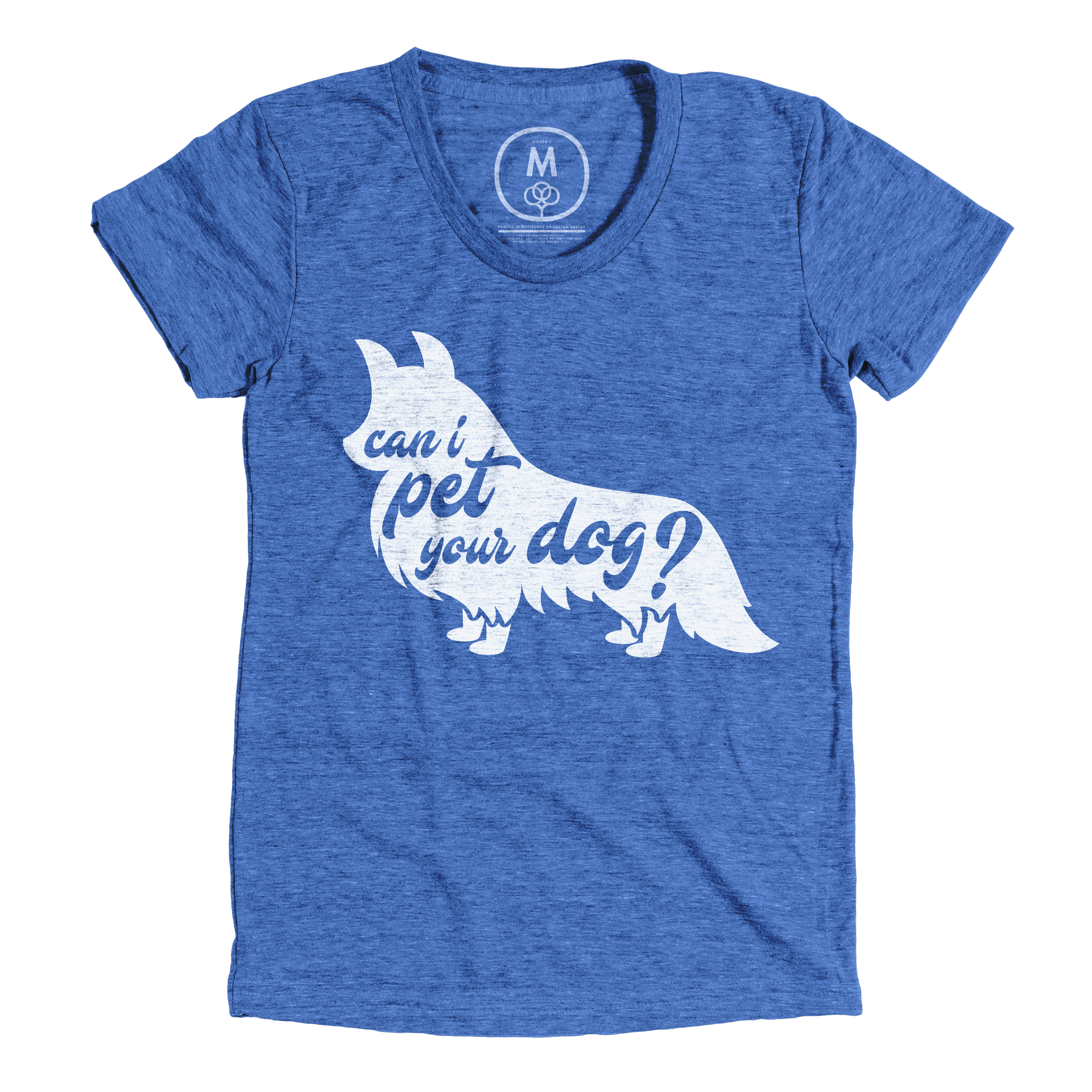 Can I Pet Your Dog? Vintage Royal (Women's)