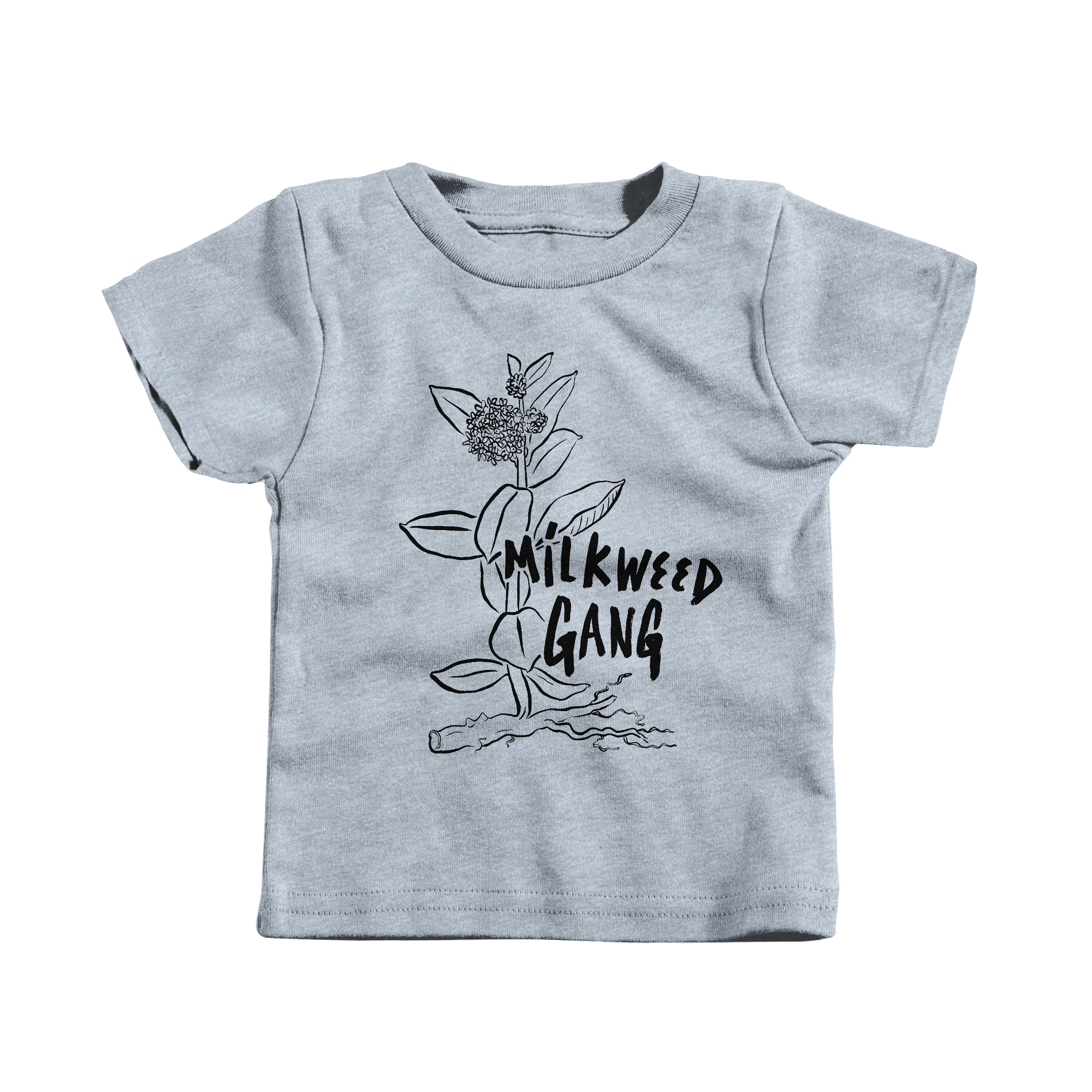 MILKWEED GANG Heather Grey (T-Shirt)
