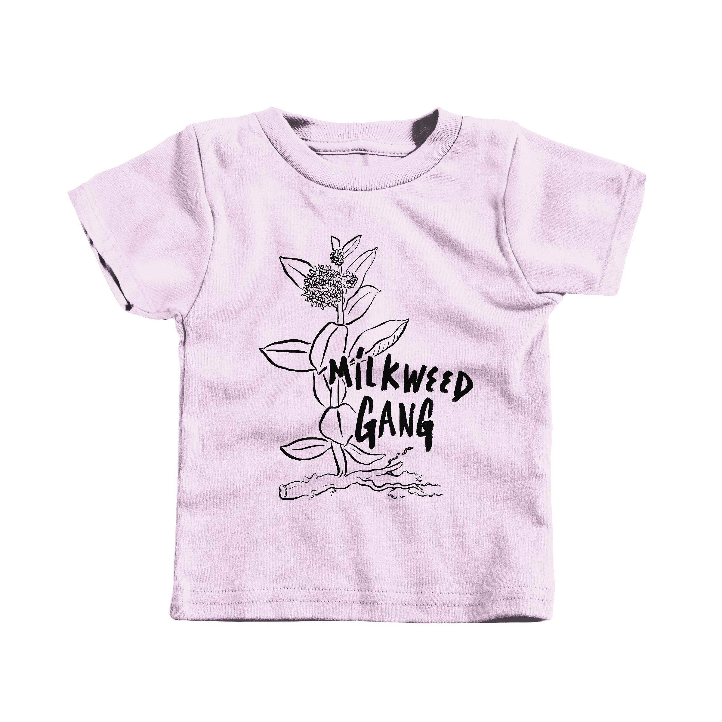 MILKWEED GANG Pink (T-Shirt)