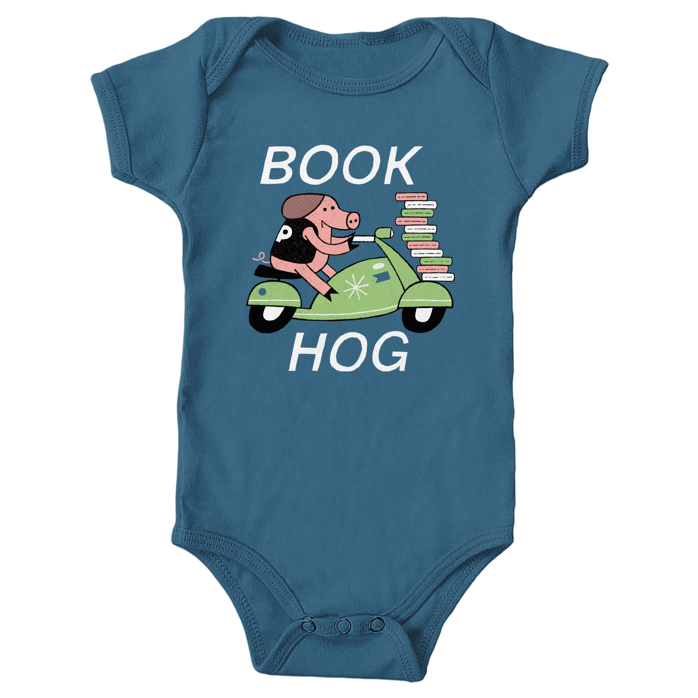 Book Hog! Indigo (Onesie)