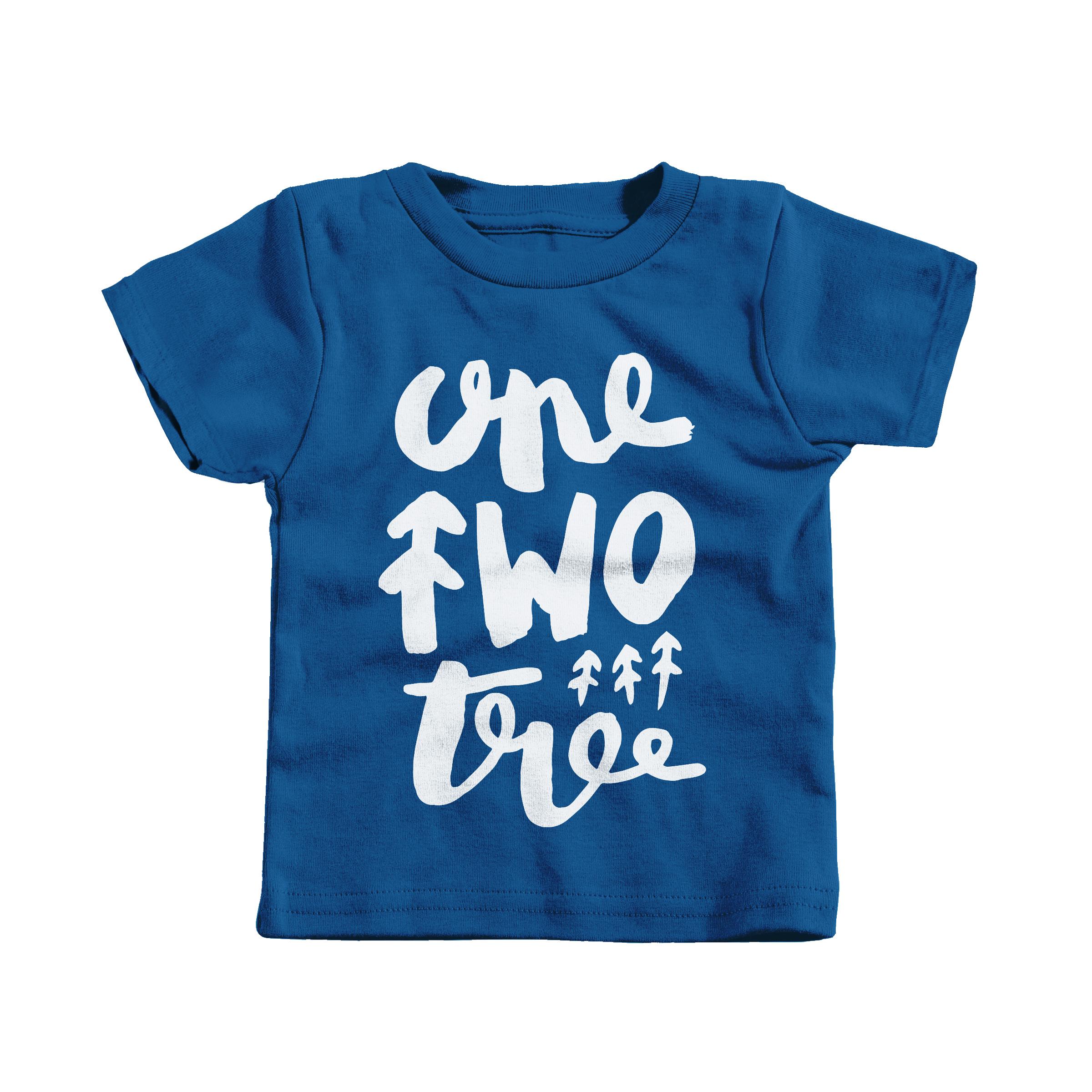 One Two Tree Royal (T-Shirt)