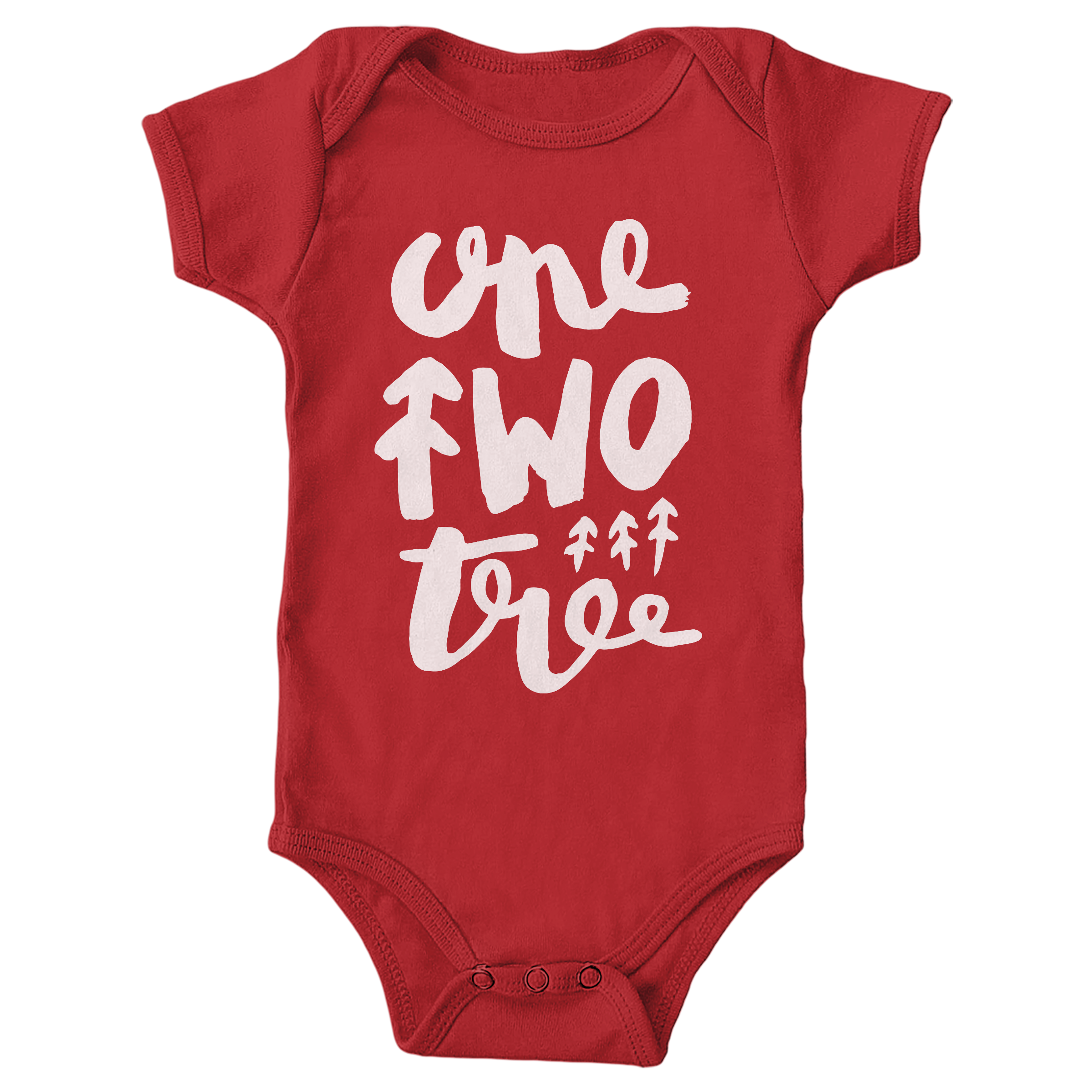 One Two Tree Red (Onesie)