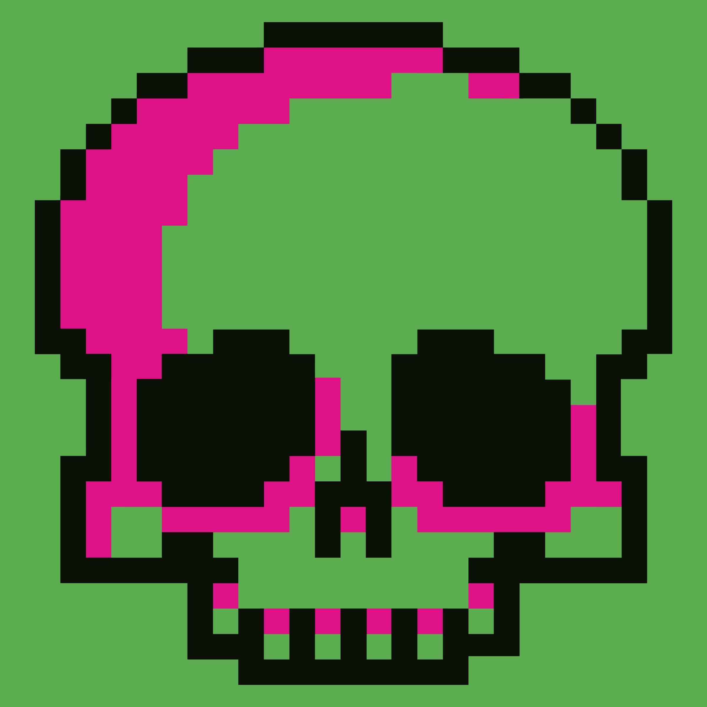Bitty Skull Detail