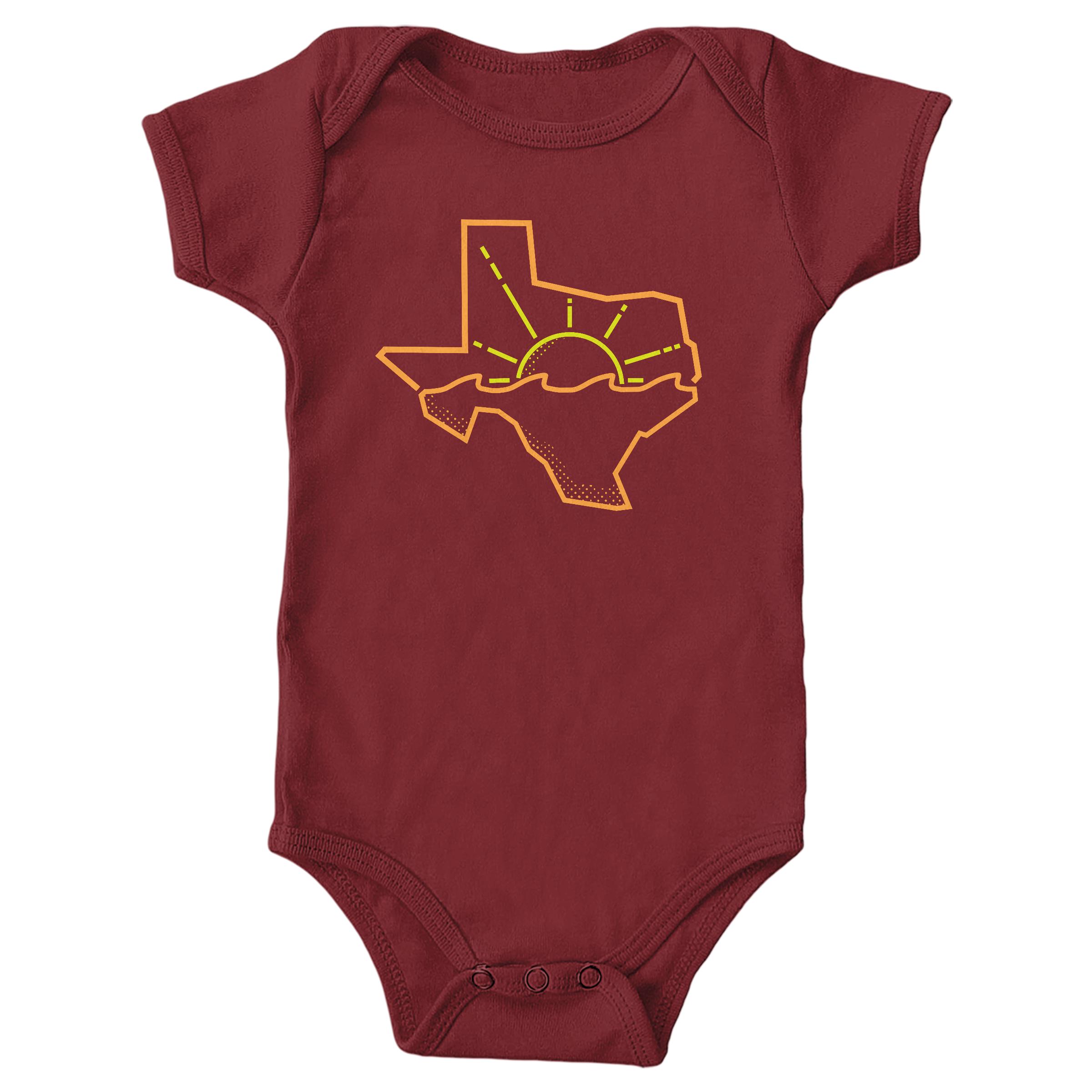 Texas Summer Garnet (Onesie)