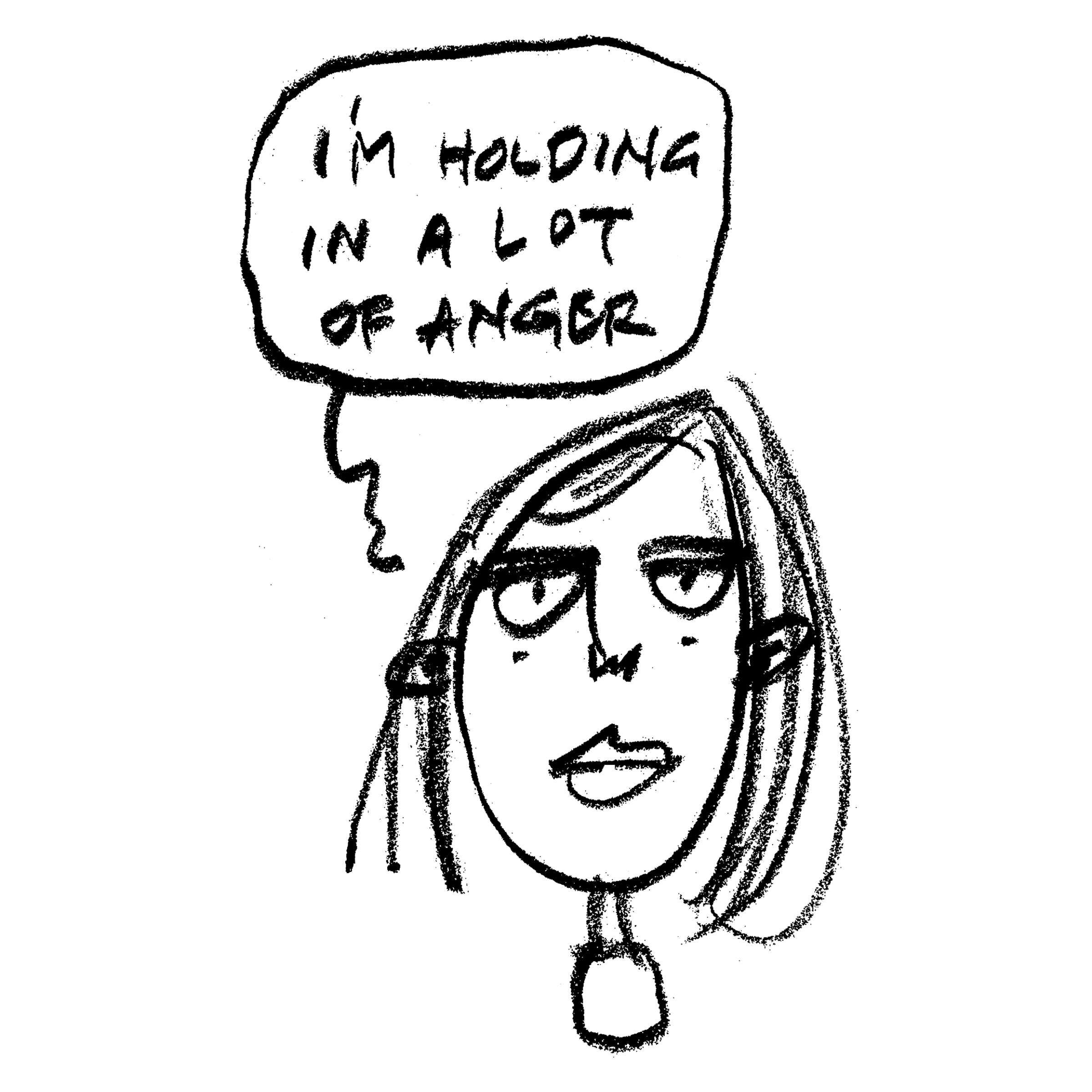 I'm Holding In a Lot of Anger Detail
