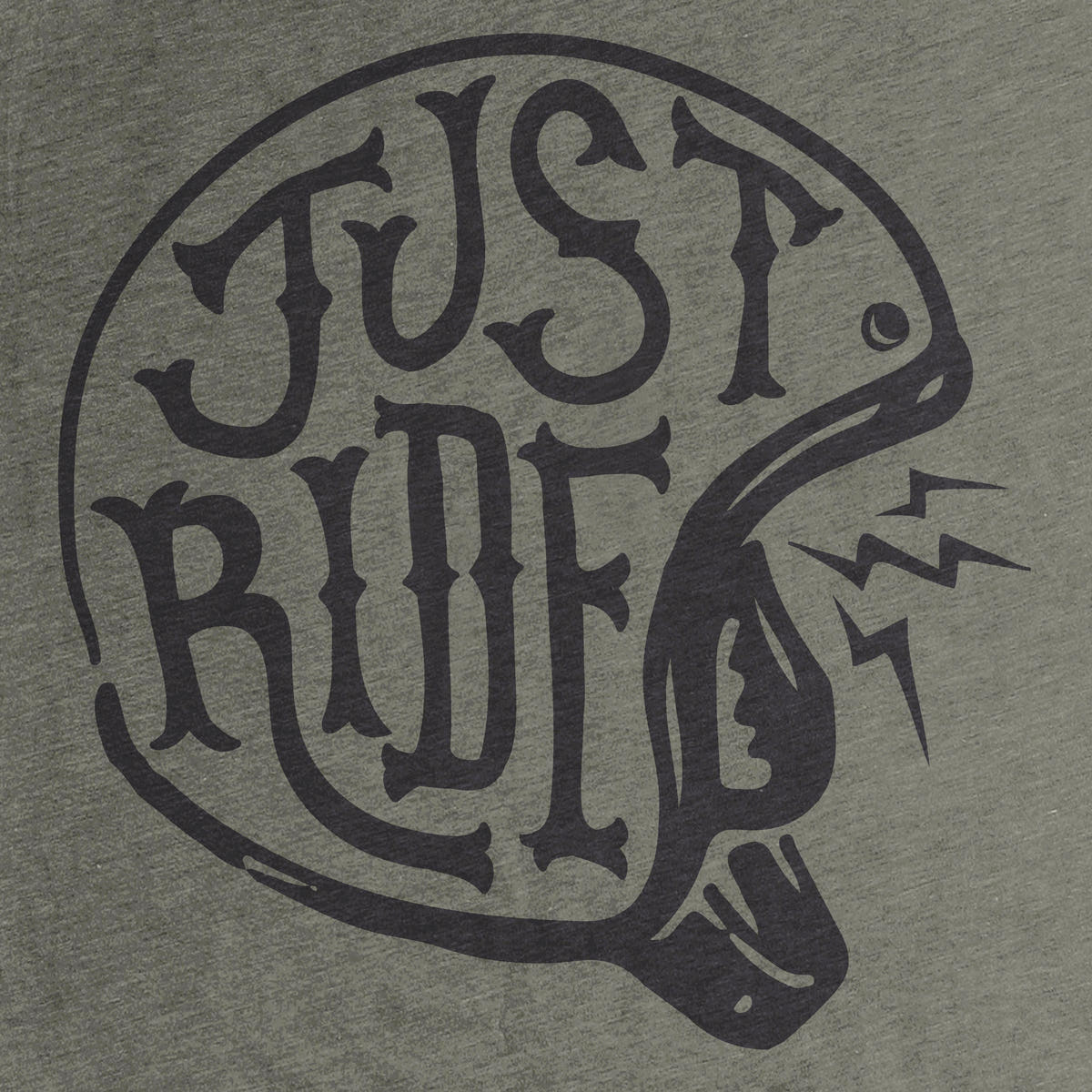 just ride graphic tee by aaron abolofia cotton bureau. Black Bedroom Furniture Sets. Home Design Ideas