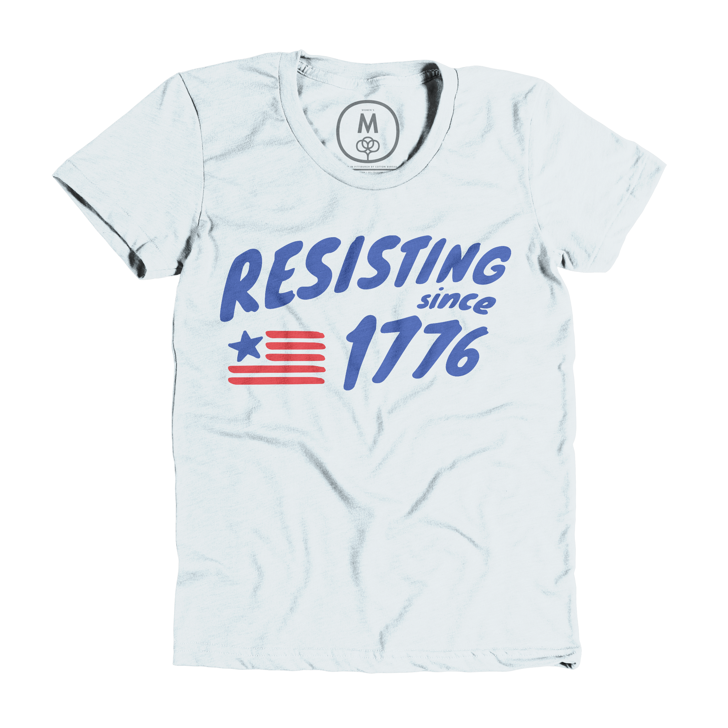 Resisting Since 1776 Ice Blue (Women's)
