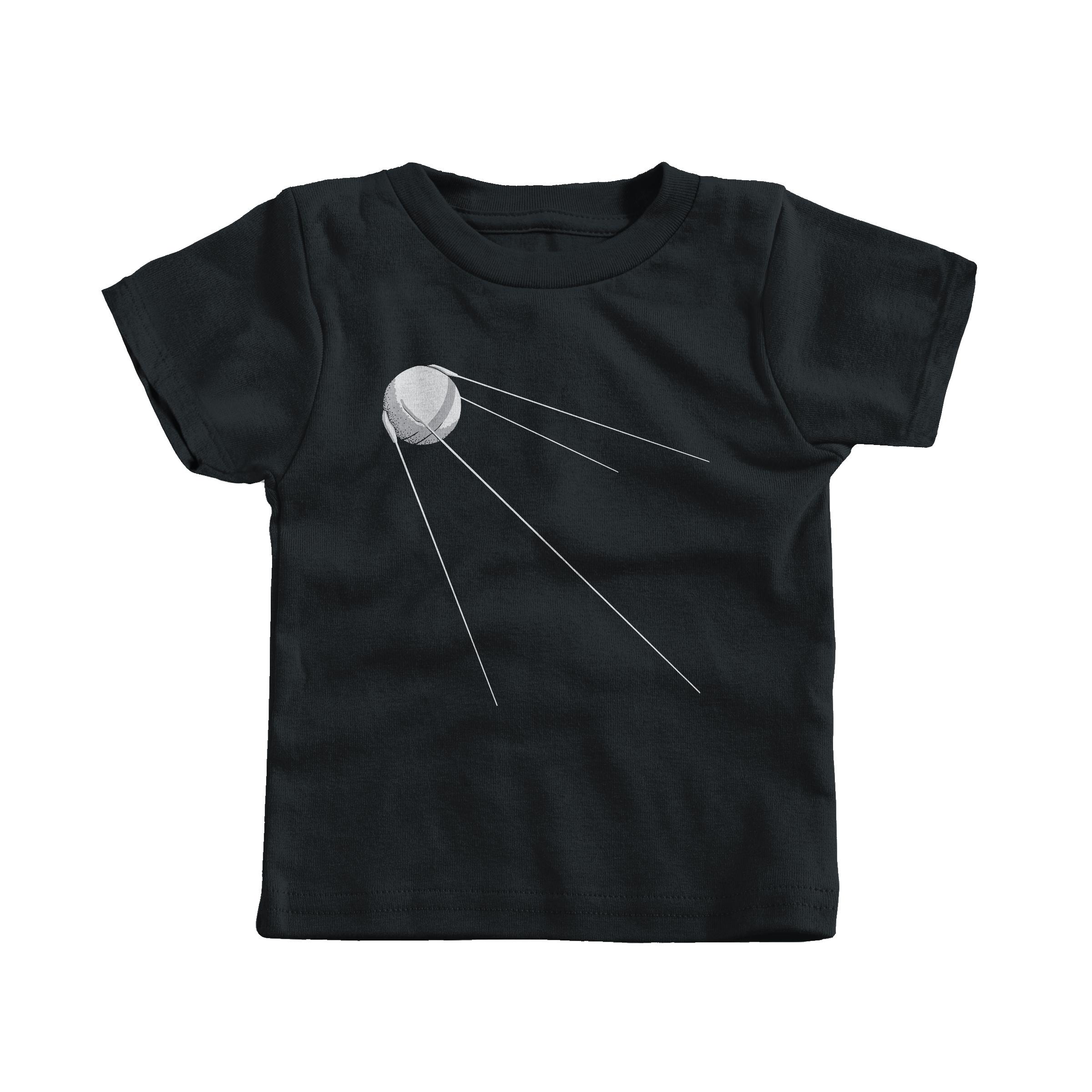 Sputnik 1 Black (T-Shirt)