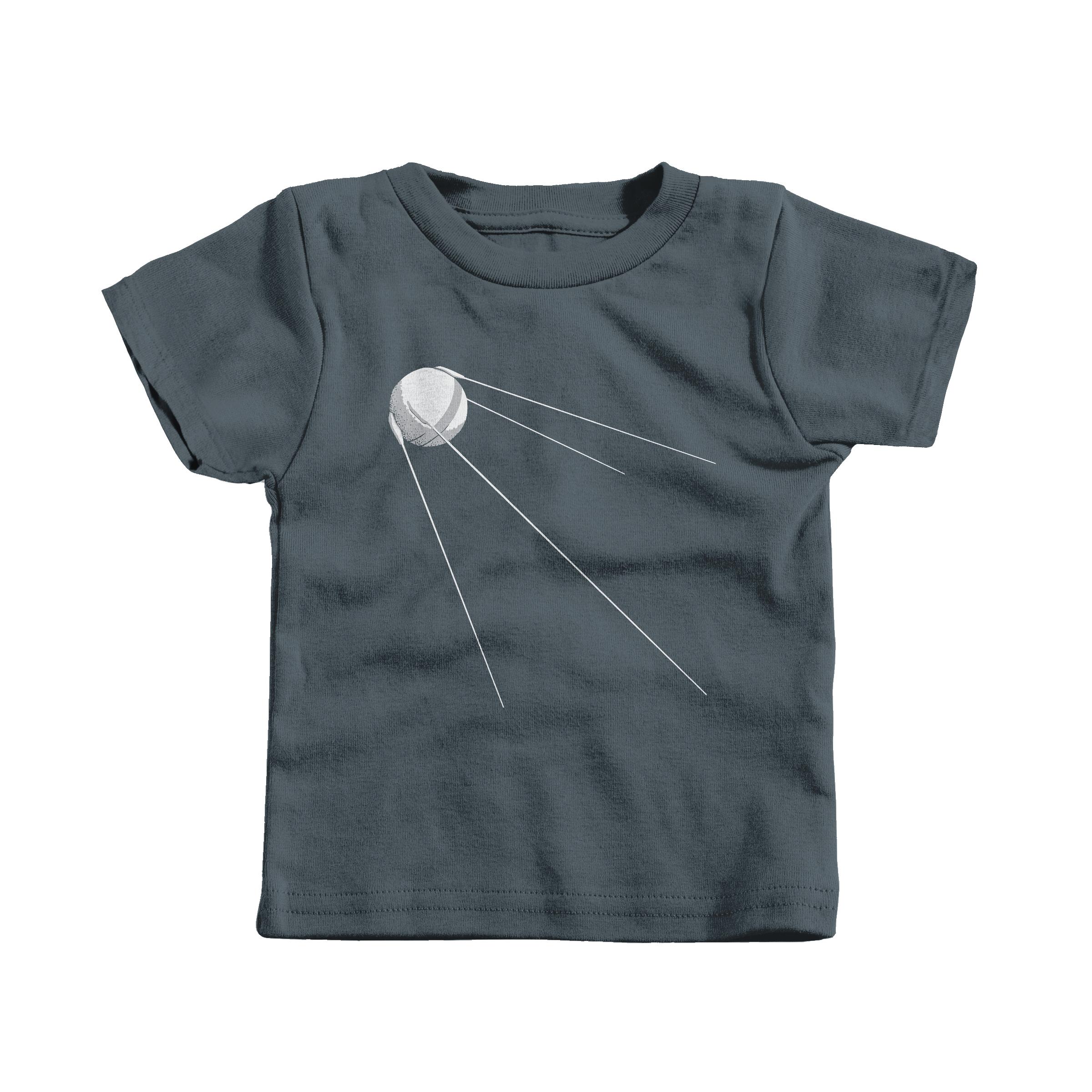 Sputnik 1 Charcoal (T-Shirt)